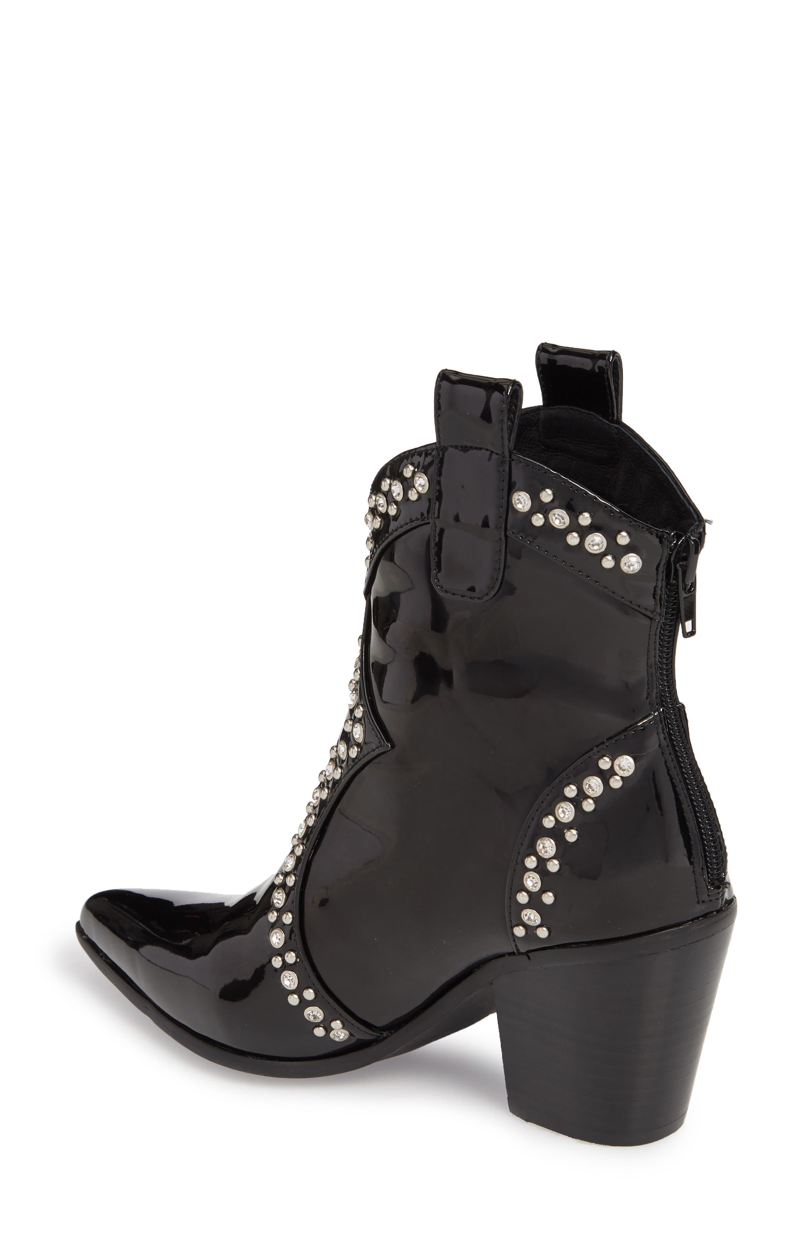 Nightwing Crystal Stud Bootie,                             Alternate thumbnail 2, color,                             002