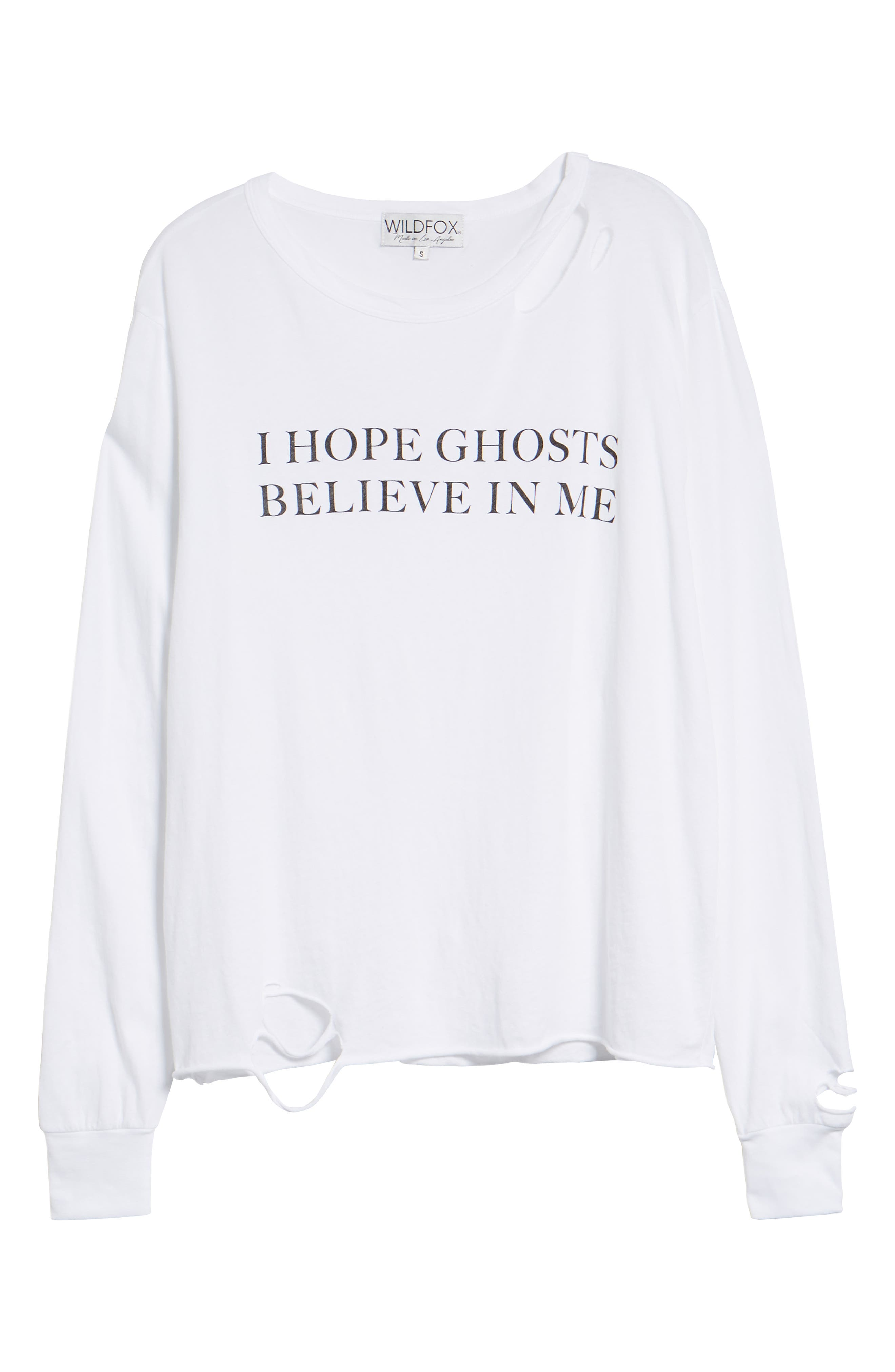 Ghosts Stellar Tee,                             Alternate thumbnail 6, color,                             CLEAN WHITE
