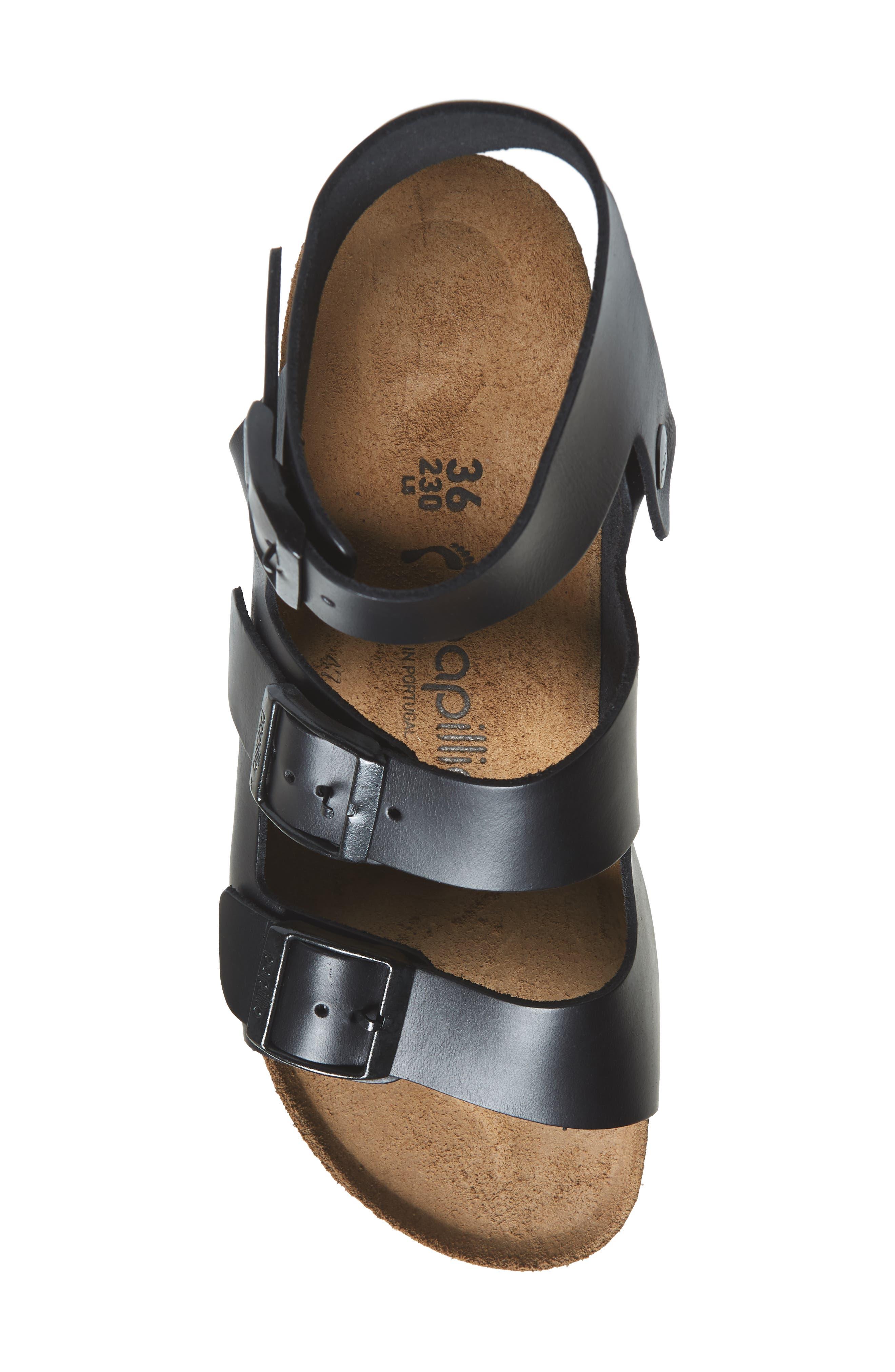 Papillio by Birkenstock Linnea Platform Sandal,                             Alternate thumbnail 5, color,                             001