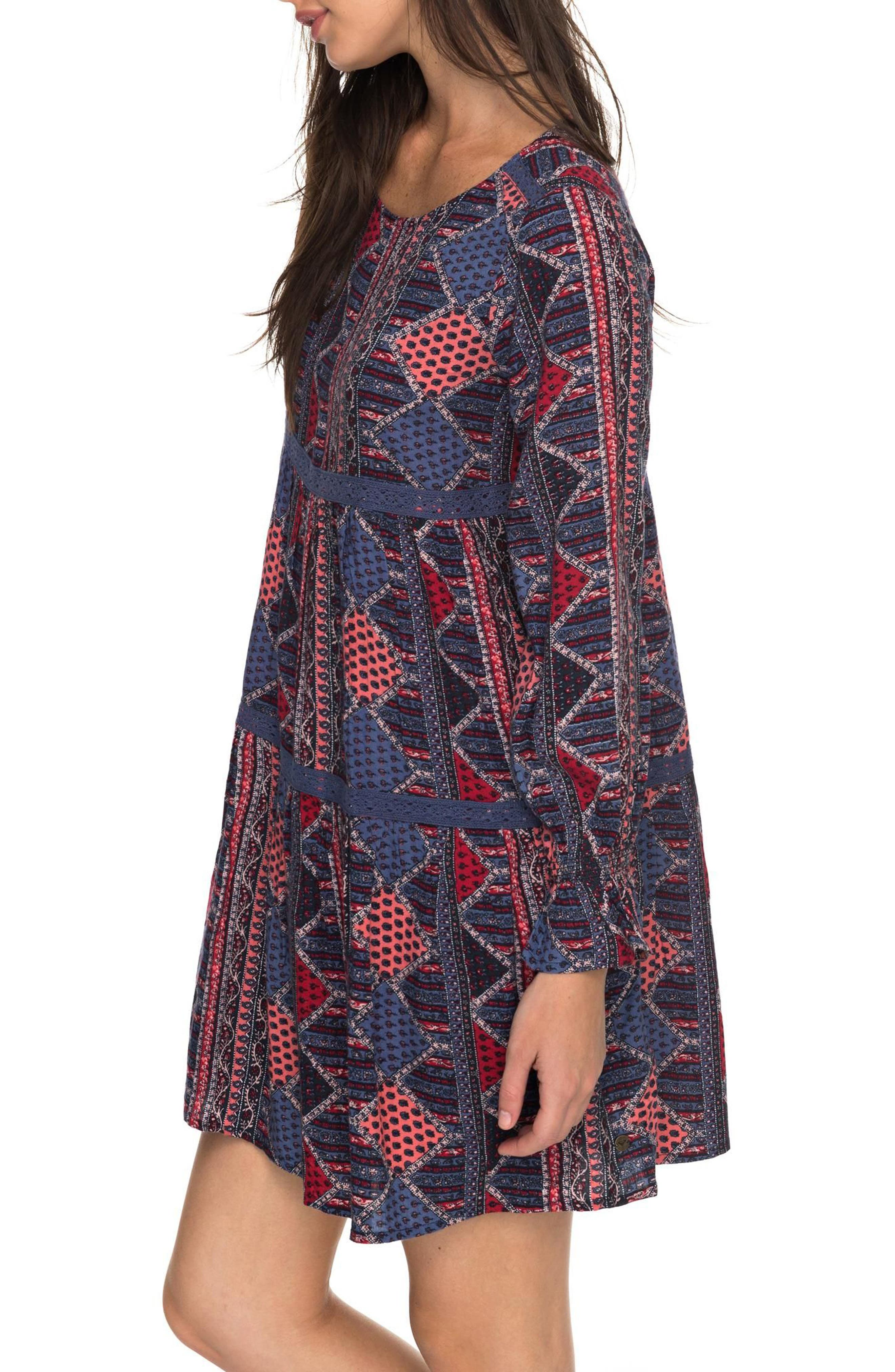 Sweetness Seas Tiered Dress,                             Alternate thumbnail 8, color,