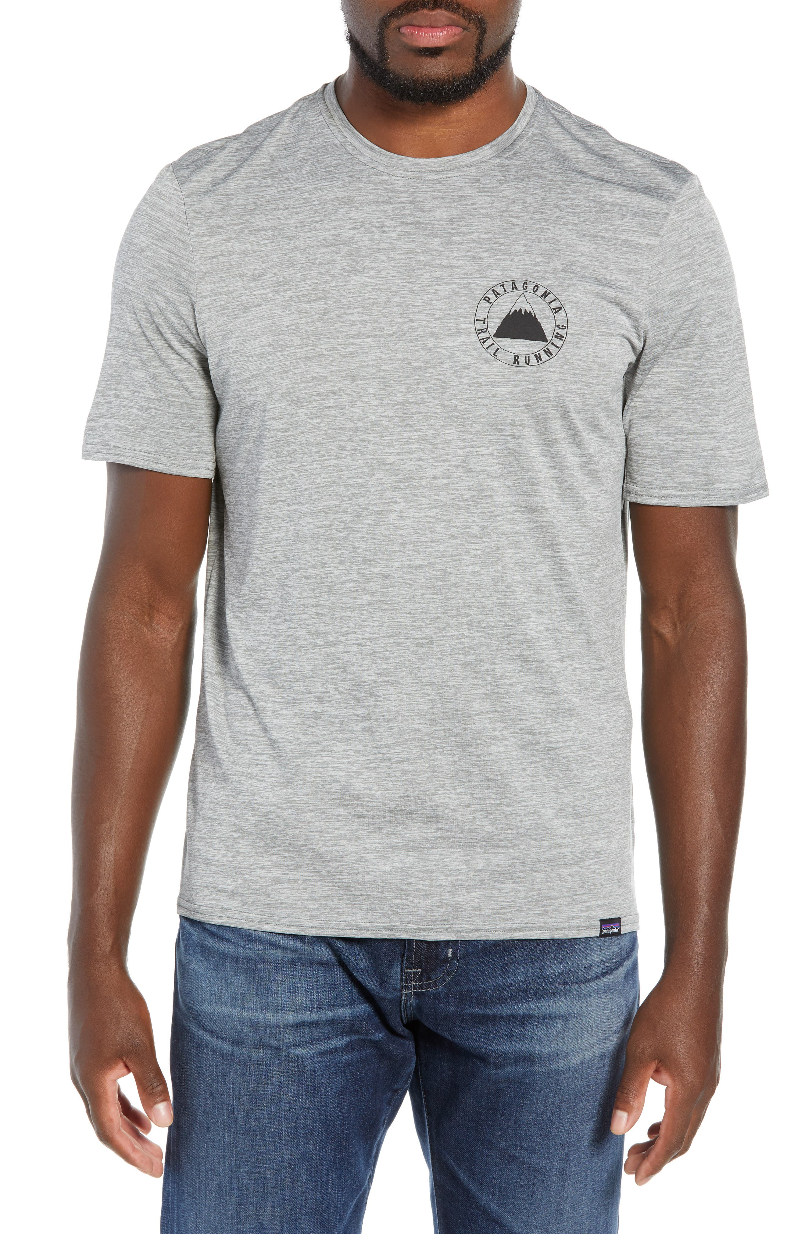 Capilene<sup>®</sup> Daily Regular Fit T-Shirt,                         Main,                         color, TRAIL MYSTIC FEATHER GREY