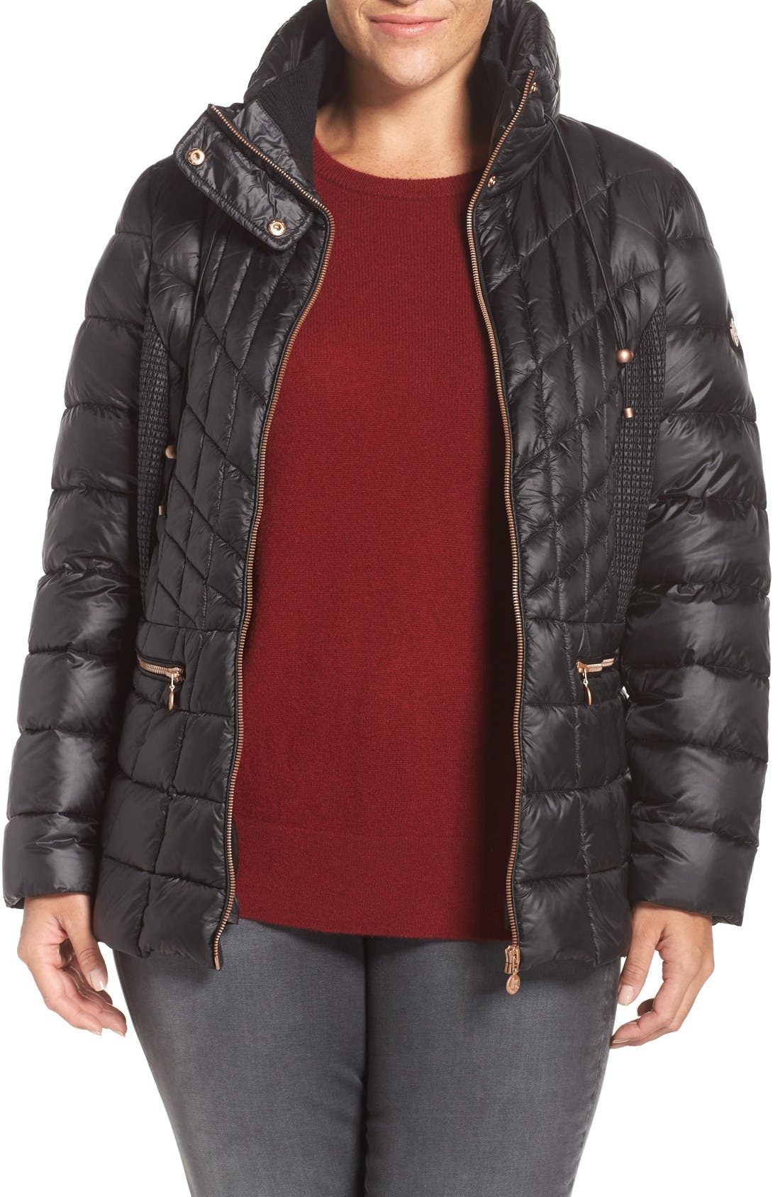 Packable Jacket with Down & PrimaLoft<sup>®</sup> Fill,                             Main thumbnail 1, color,                             005