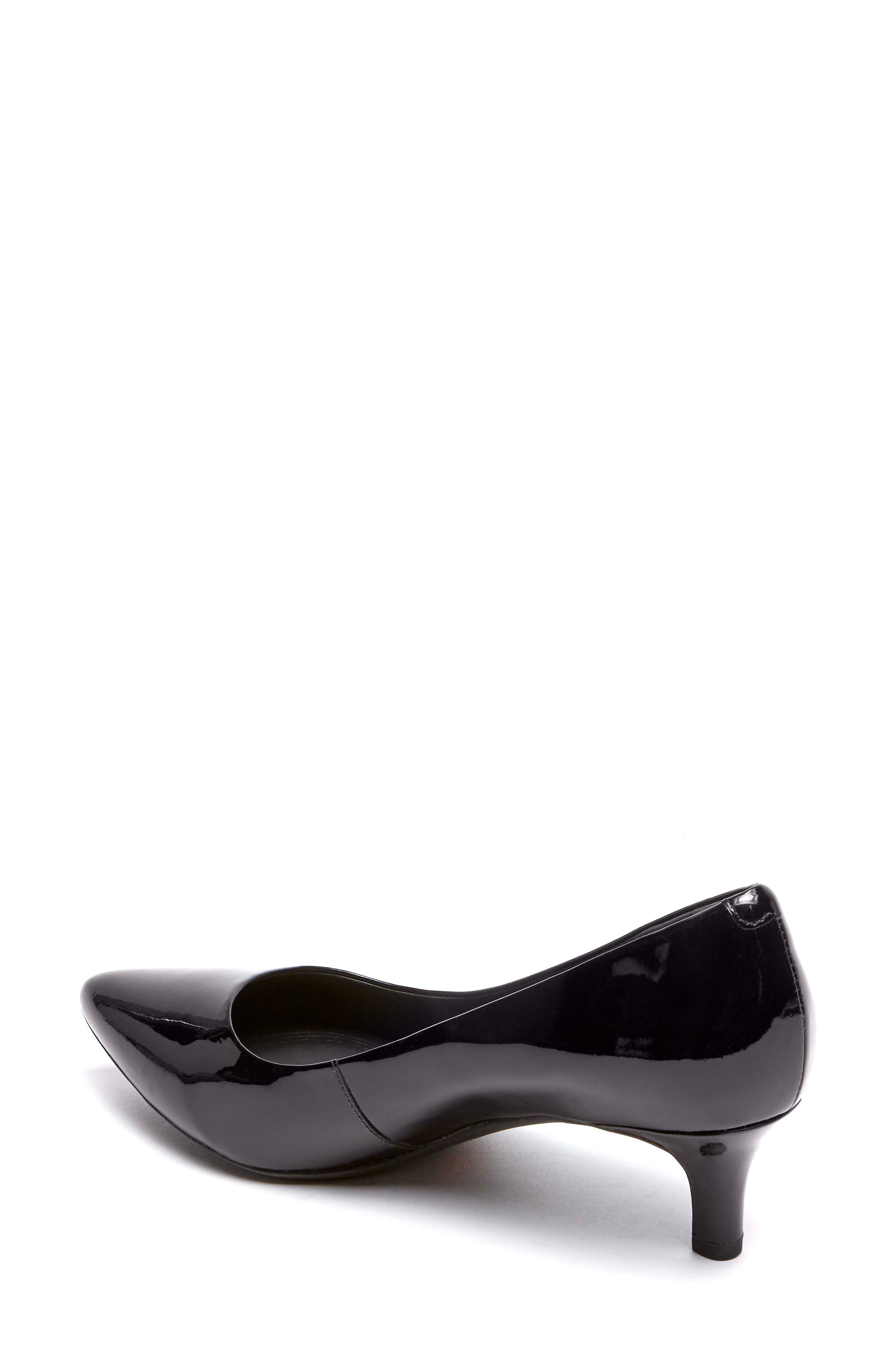 Kalila Luxe Pump,                             Alternate thumbnail 2, color,                             BLACK PATENT LEATHER