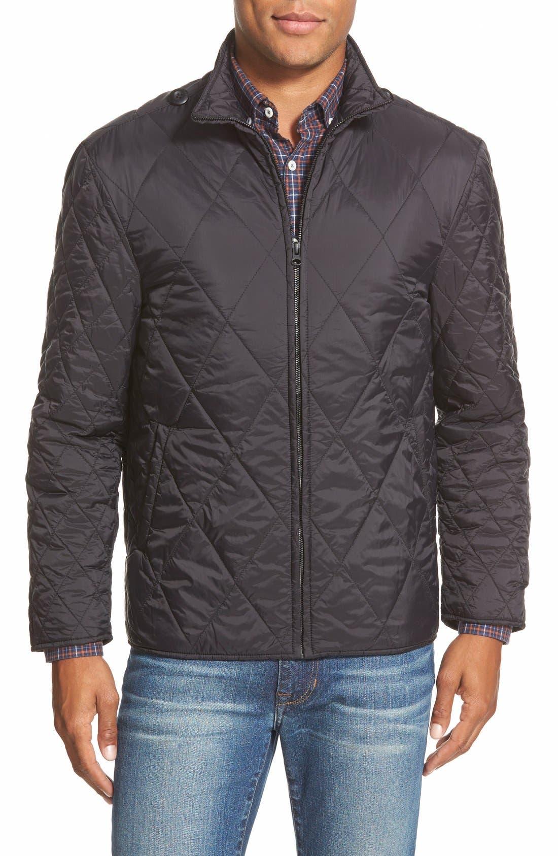 'Westown' 3-in-1 Wool Blend Coat,                             Alternate thumbnail 7, color,
