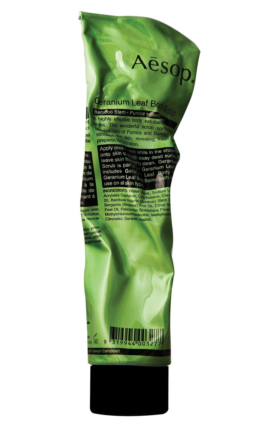 Geranium Leaf Body Scrub,                             Main thumbnail 1, color,                             NONE