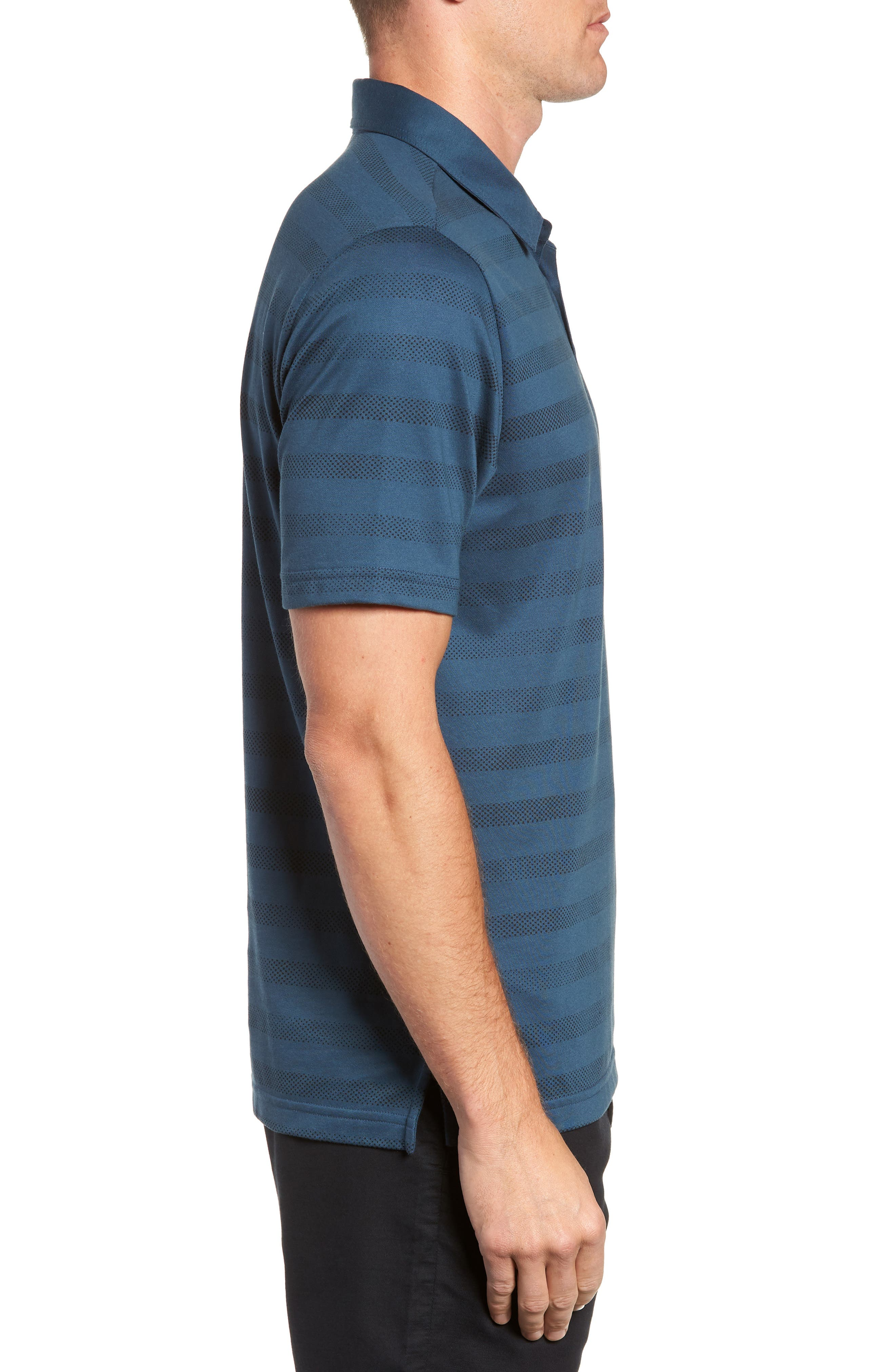 Dolphinantly Regular Fit Polo,                             Alternate thumbnail 3, color,                             BLUE WING TEAL