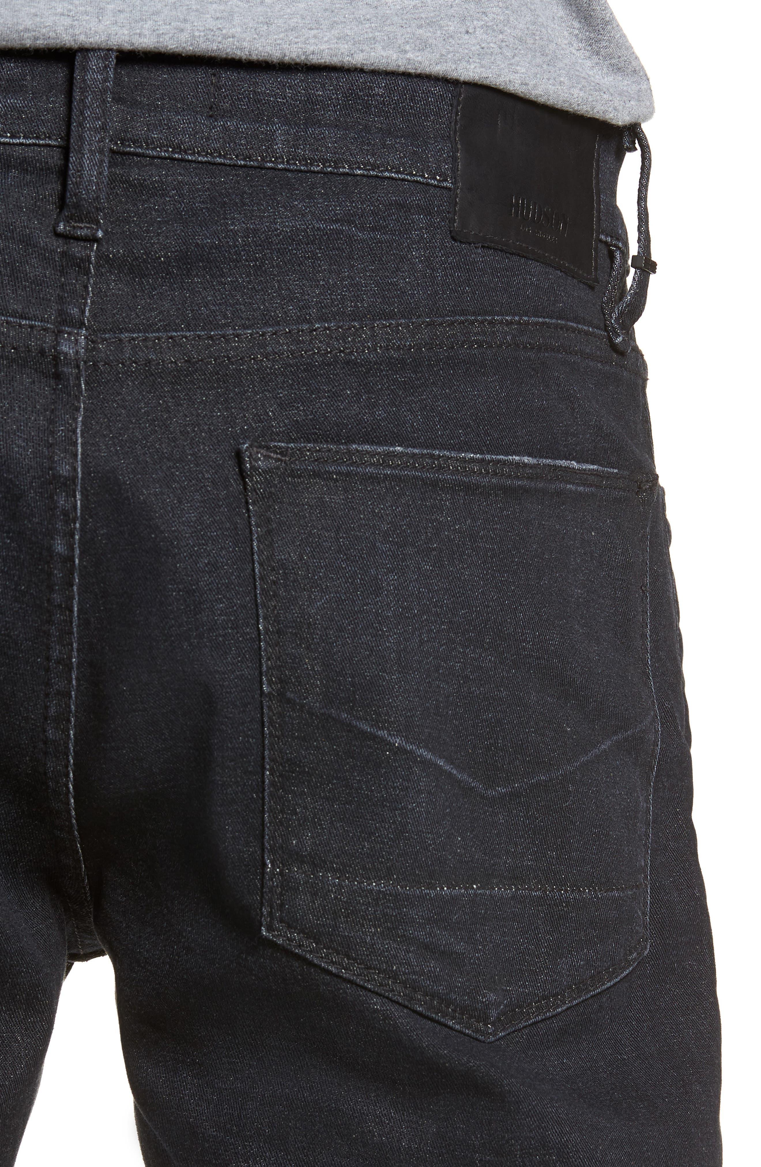 Byron Straight Leg Jeans,                             Alternate thumbnail 4, color,                             BENFIELD
