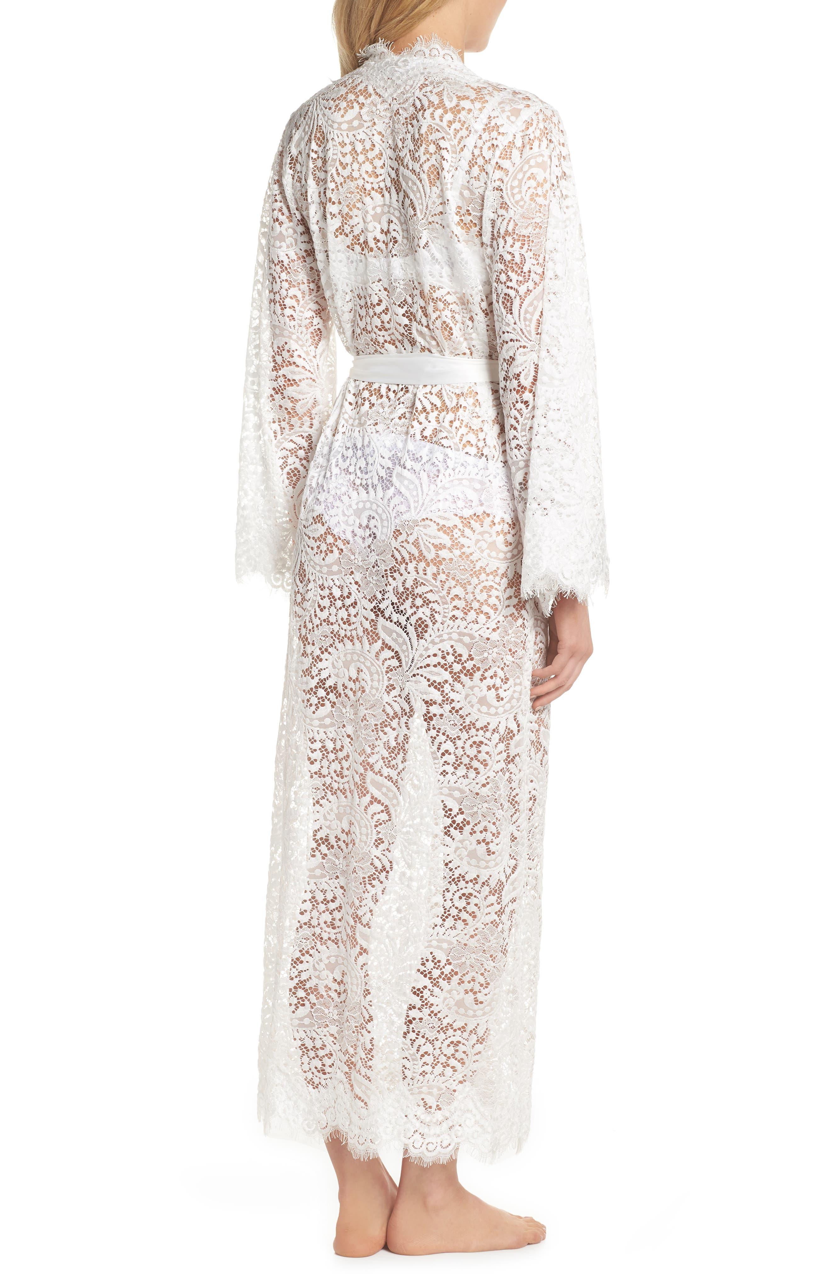 HOMEBODII,                             Anemone Long Lace Wrap,                             Alternate thumbnail 2, color,                             WHITE
