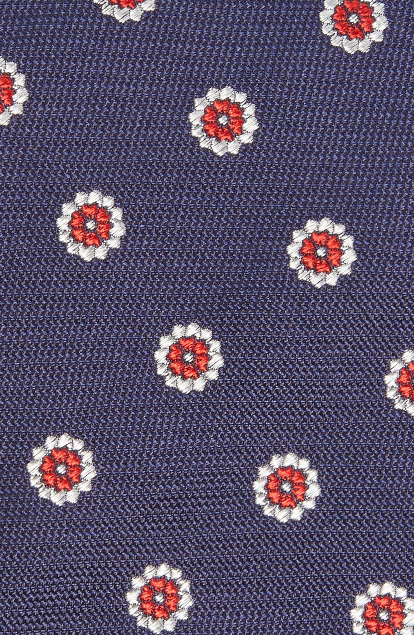 Medallion Silk Tie,                             Alternate thumbnail 2, color,                             419