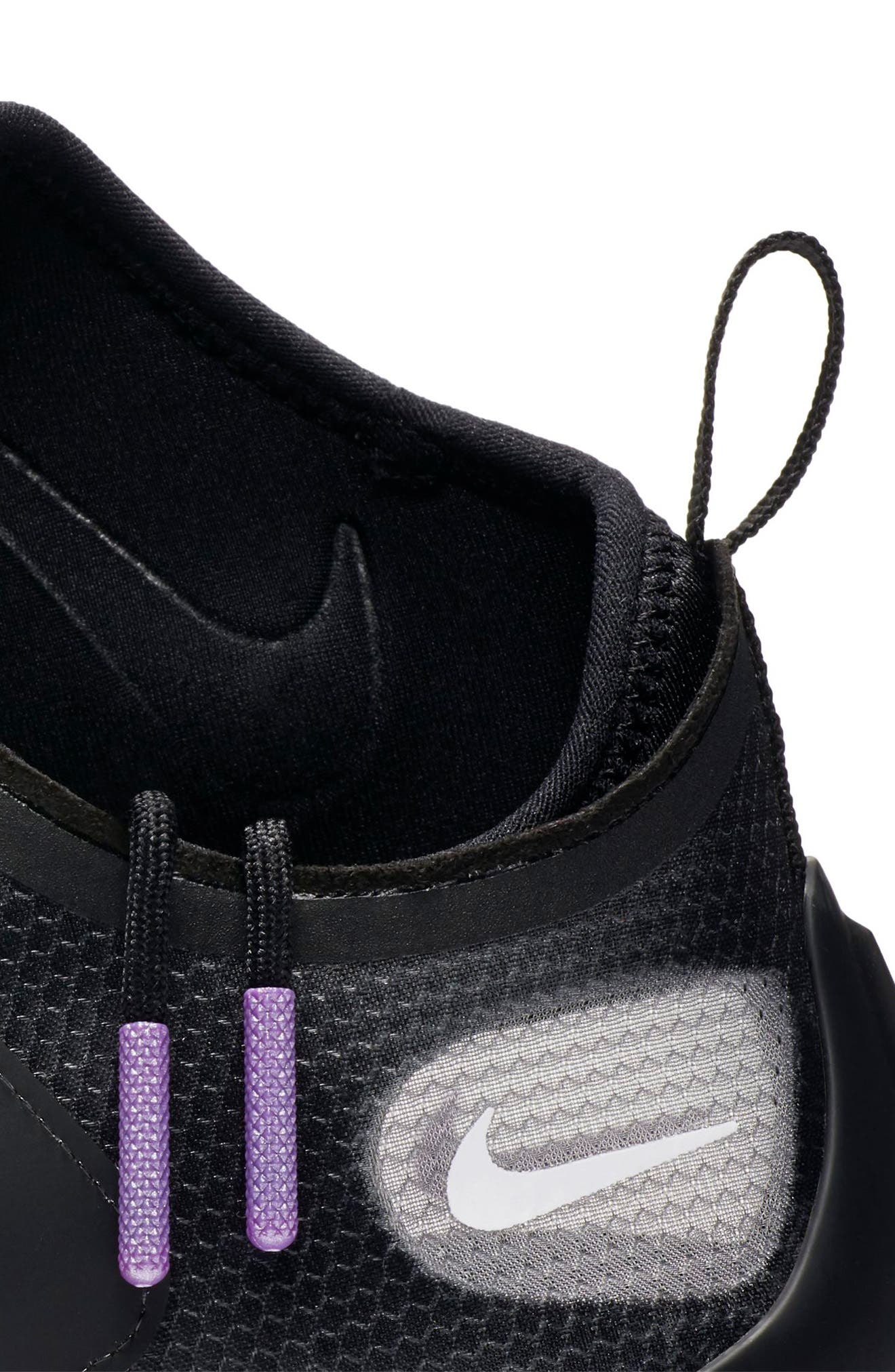 Zoom Pegasus Turbo XX Running Shoe,                             Alternate thumbnail 7, color,                             BLACK/ BLACK/ WHITE
