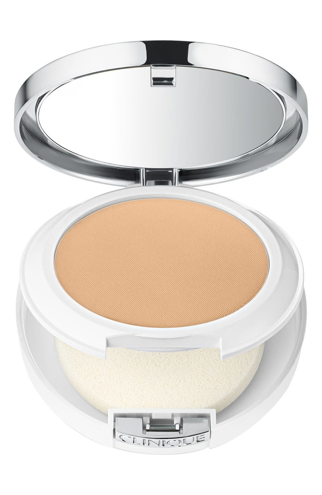 CLINIQUE,                             Beyond Perfecting Powder Foundation + Concealer,                             Main thumbnail 1, color,                             ALABASTER