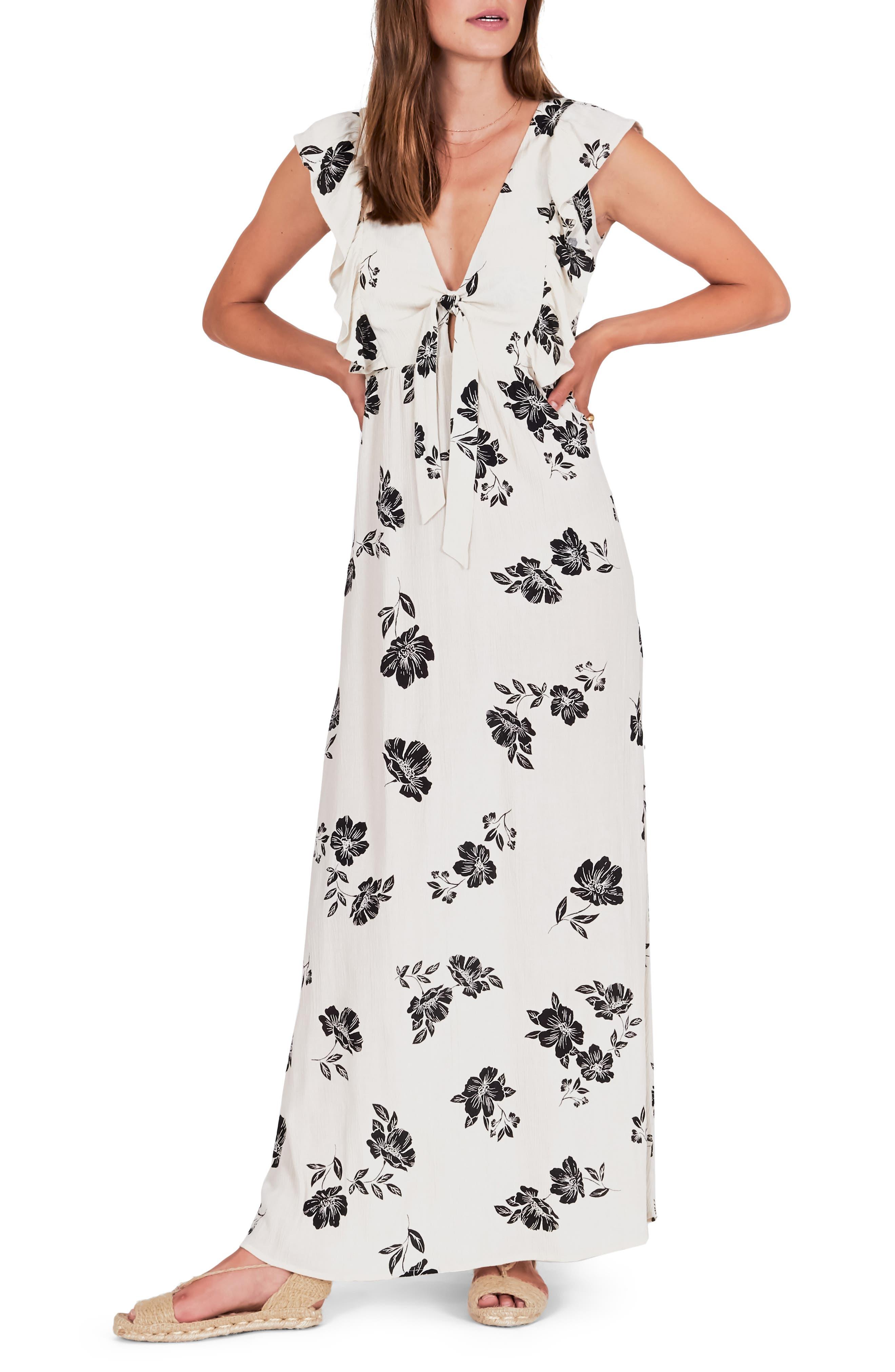 Amuse Society Carolina Maxi Dress, White