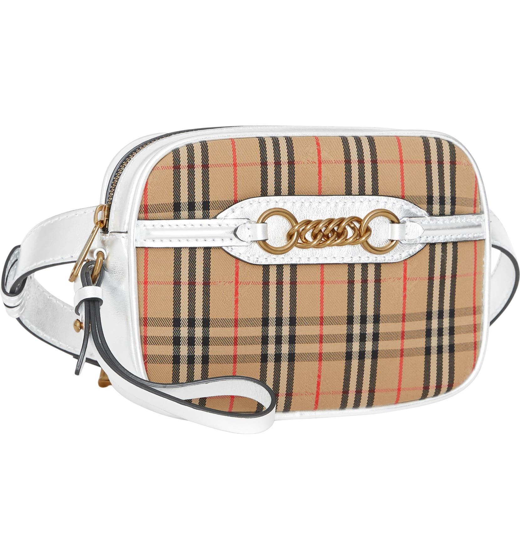 Burberry Vintage Check Link Bum Bag  352c107564028