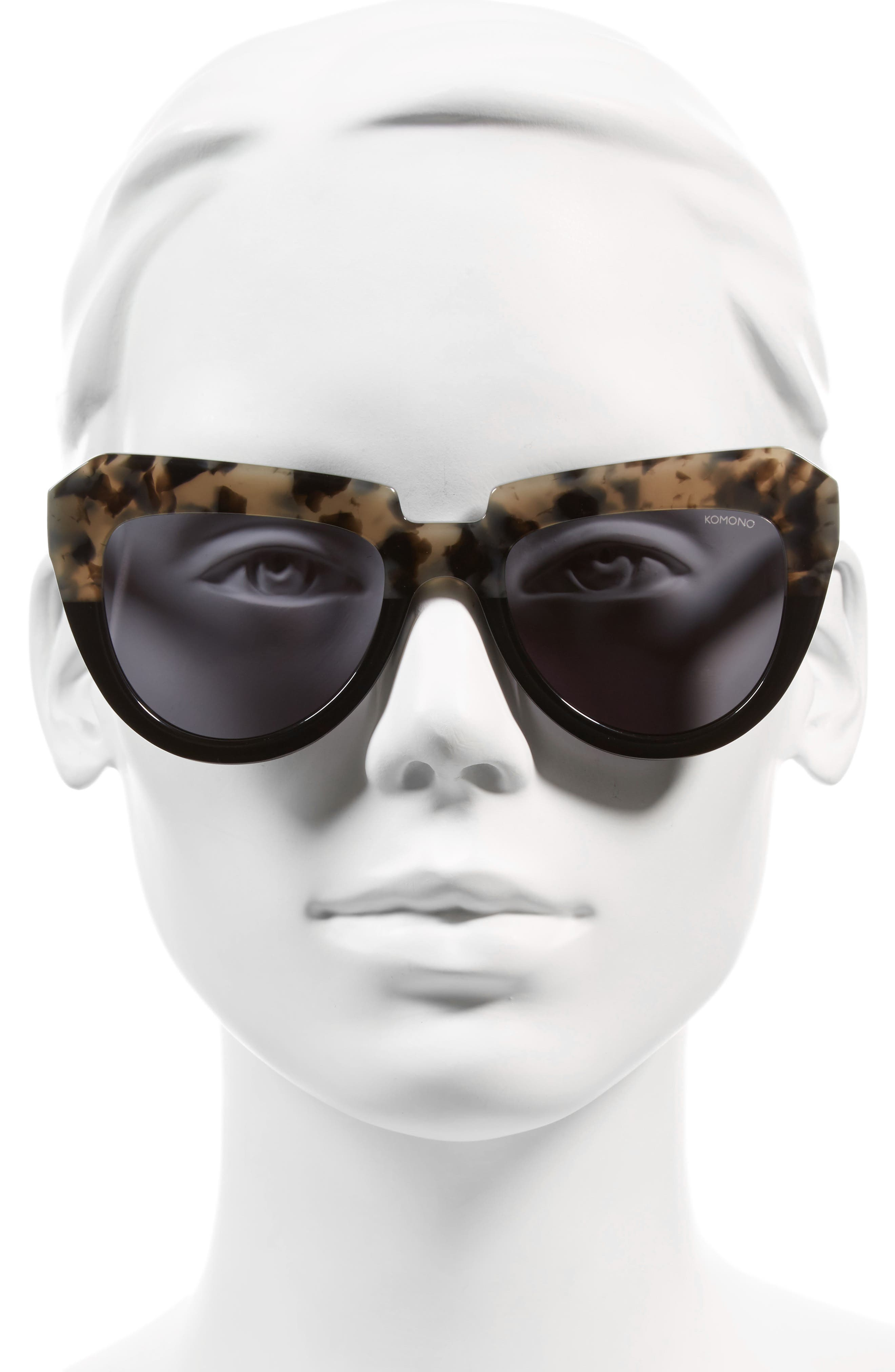 Stella 51mm Sunglasses,                             Alternate thumbnail 7, color,