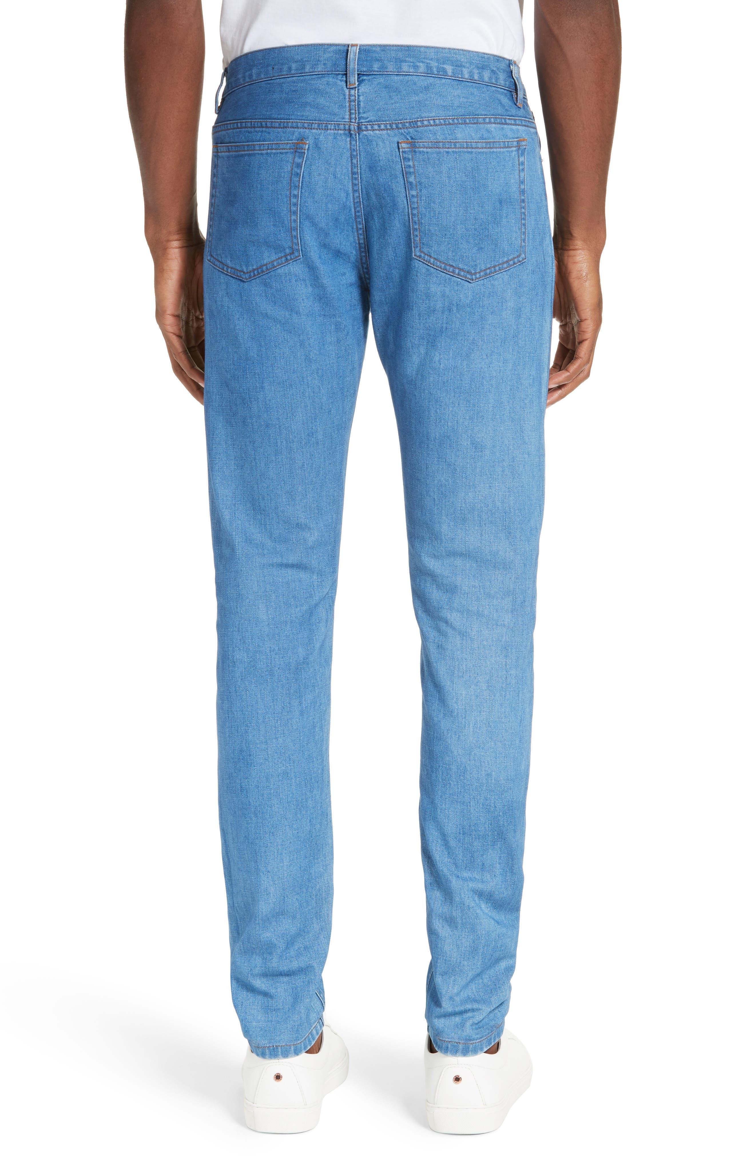 Petit New Standard Slim Fit Jeans,                         Main,                         color, 461