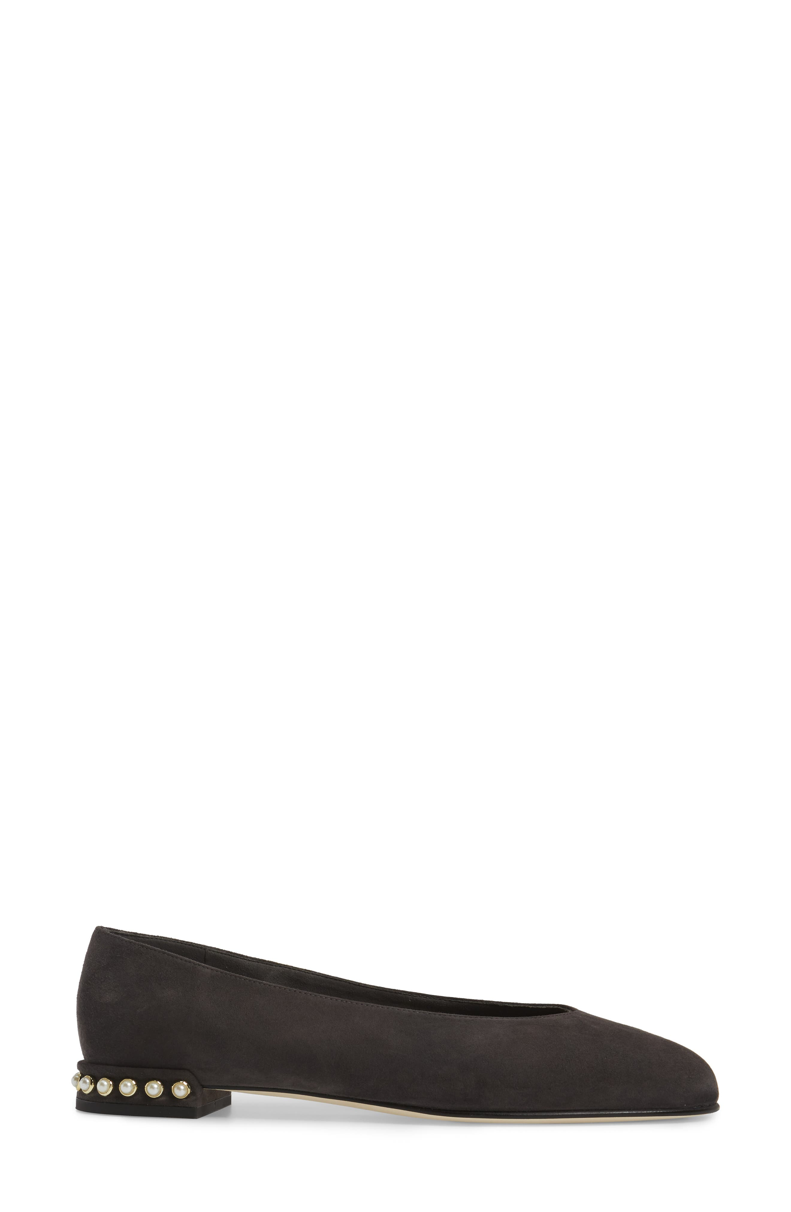 Chicpearl Ballet Flat,                             Alternate thumbnail 3, color,                             020