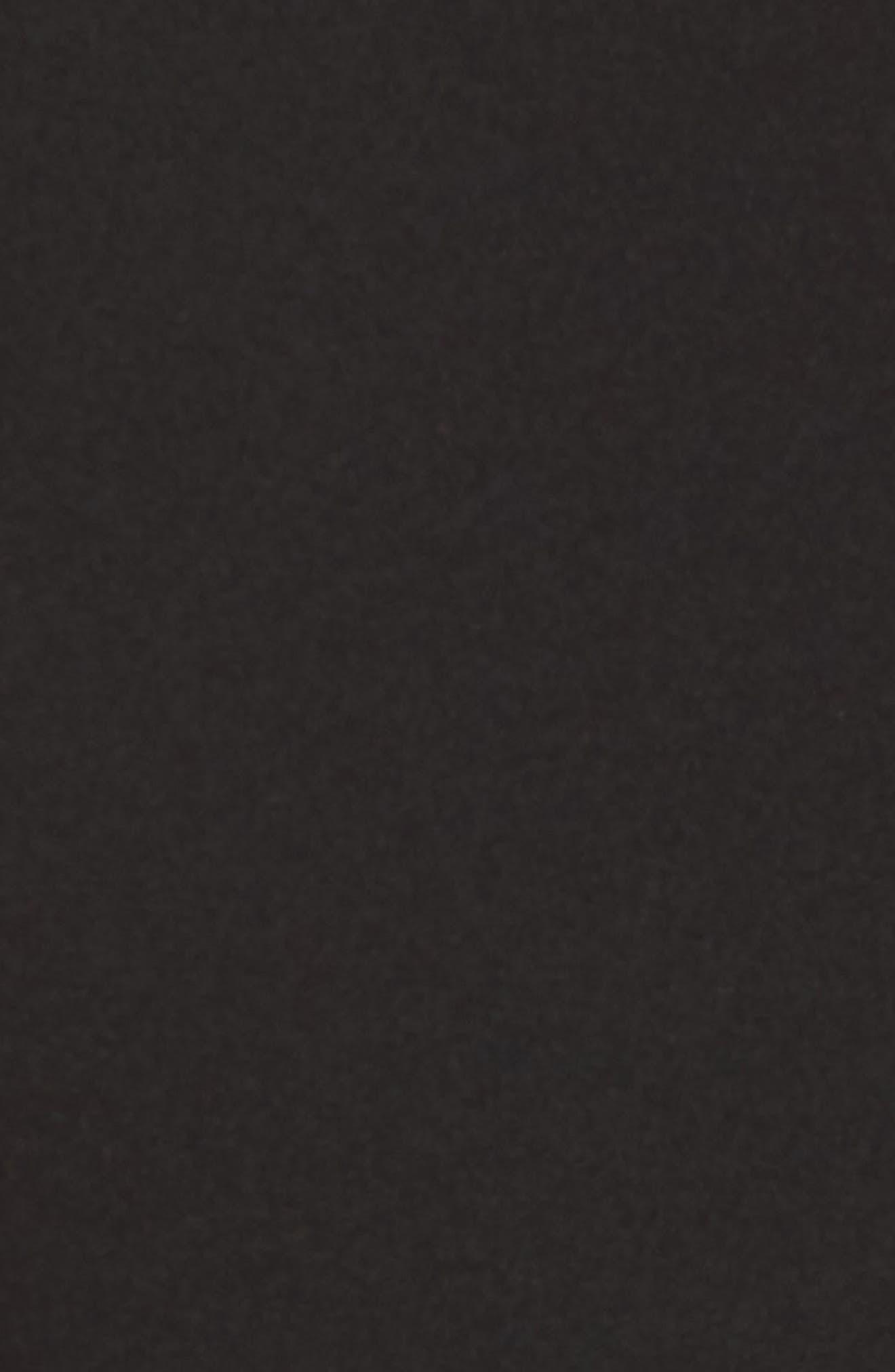 Choker One-Shoulder Dress,                             Alternate thumbnail 5, color,                             001