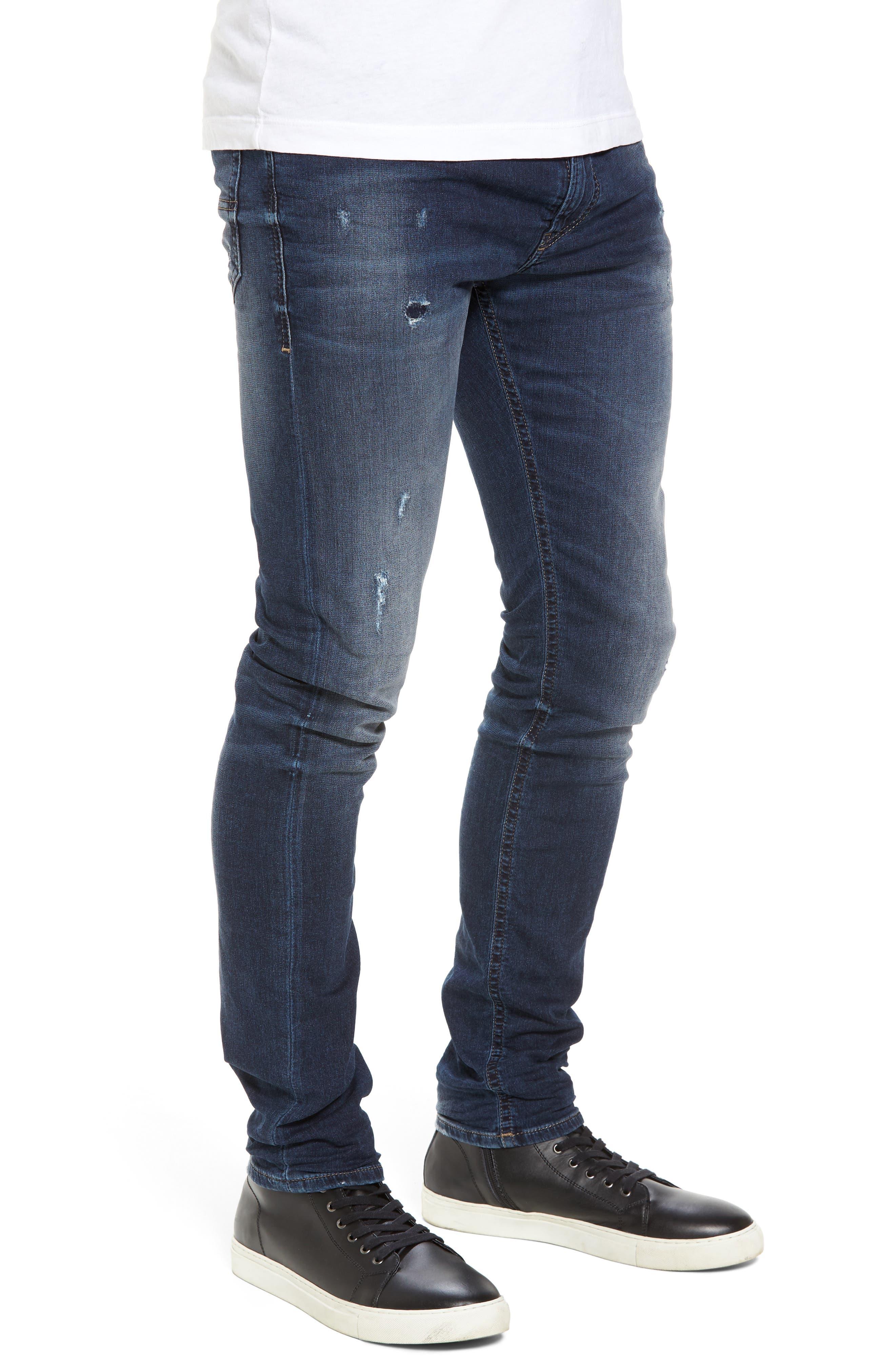 Thommer Slim Fit Jeans,                             Alternate thumbnail 3, color,                             400