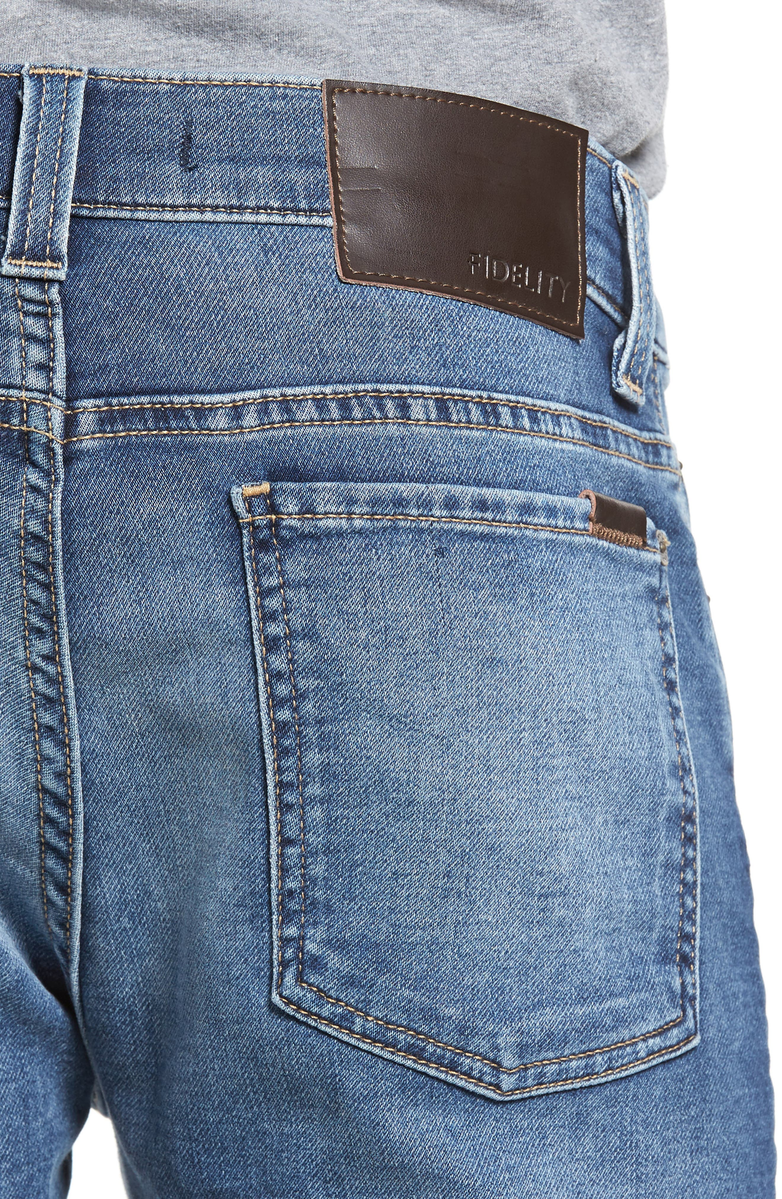 Fideliety Denim Torino Slim Fit Jeans,                             Alternate thumbnail 4, color,                             424