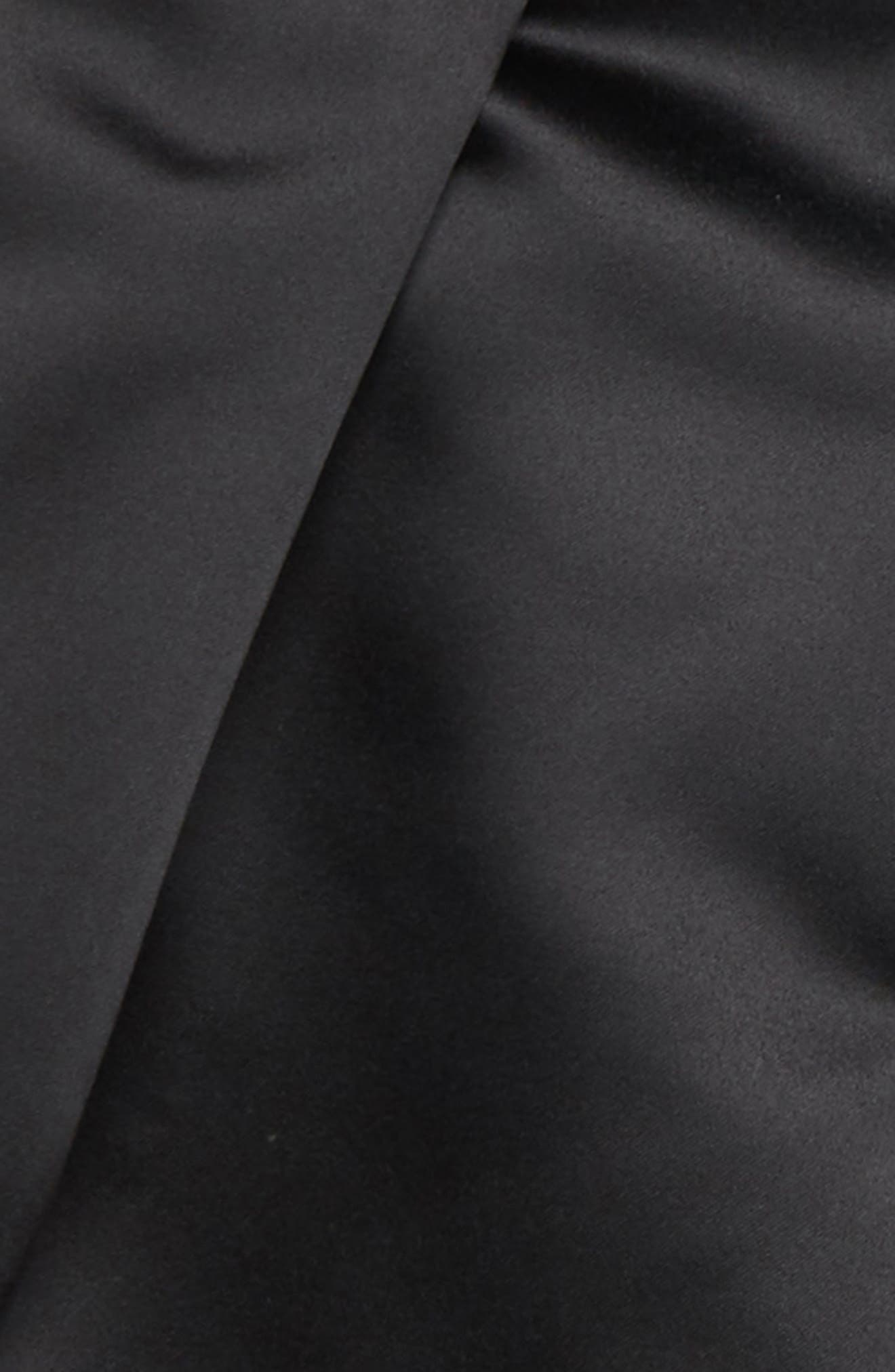 Pleated Skirt,                             Alternate thumbnail 2, color,                             BLACK