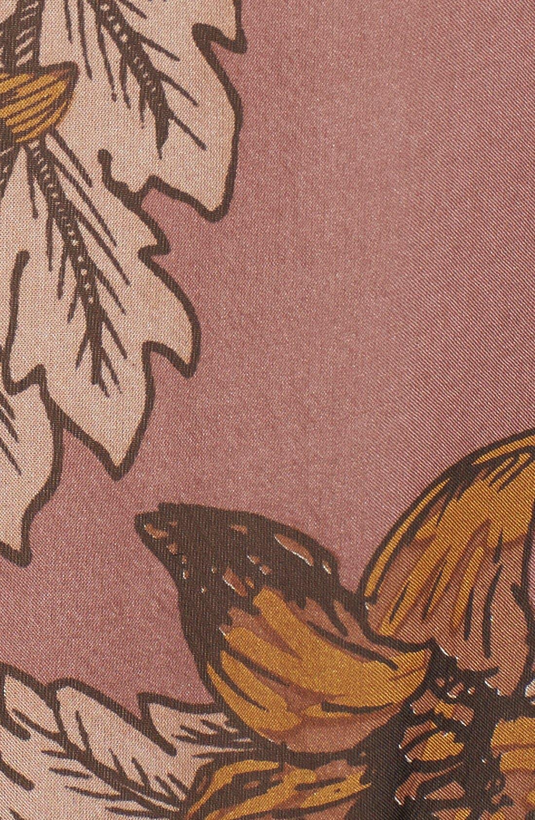 'Santa Rosa' Silk Maxi Dress,                             Alternate thumbnail 4, color,                             660