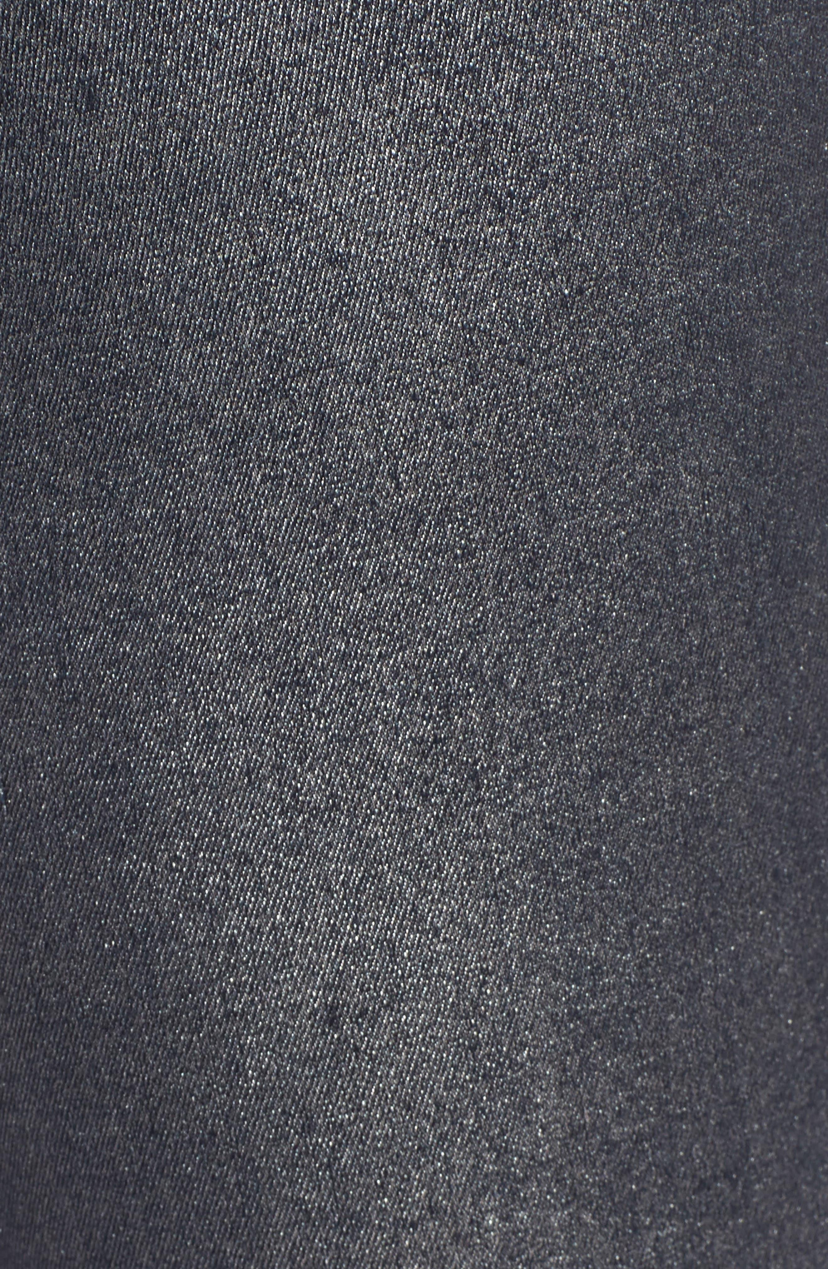 Connie Ankle Zipper Jeans,                             Alternate thumbnail 5, color,