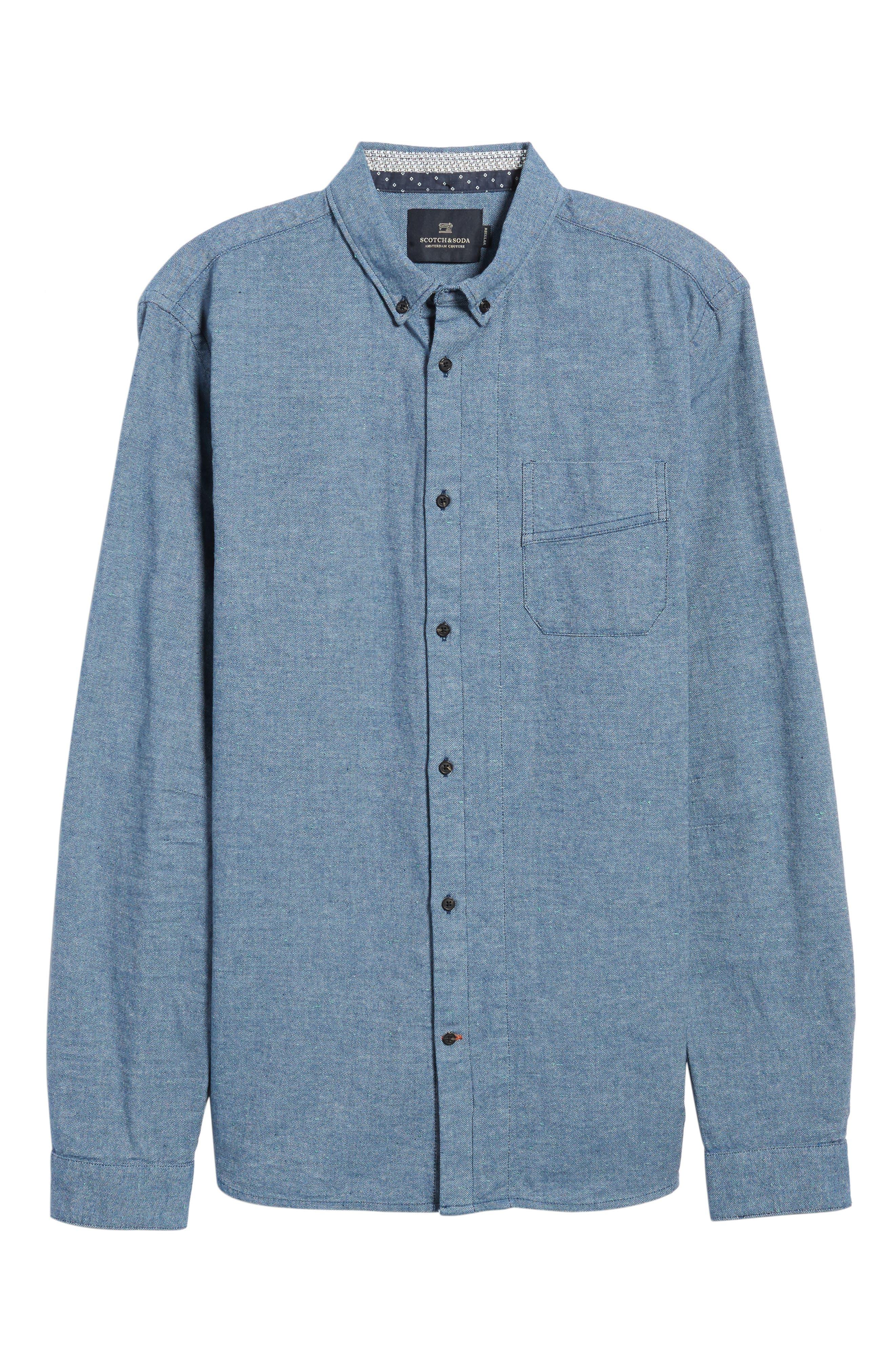 Chambray Shirt,                             Alternate thumbnail 12, color,