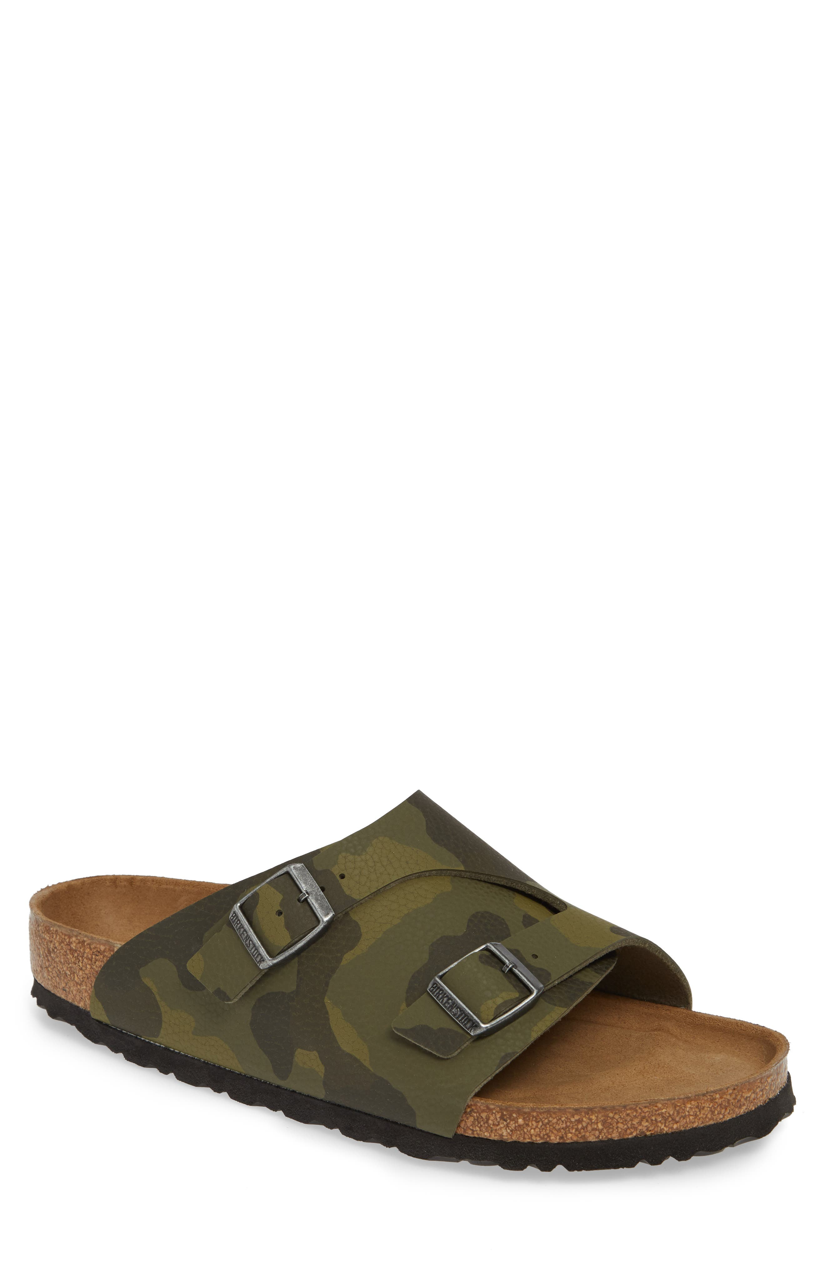 Birkenstock Zurich Slide Sandal,9.5 - Green
