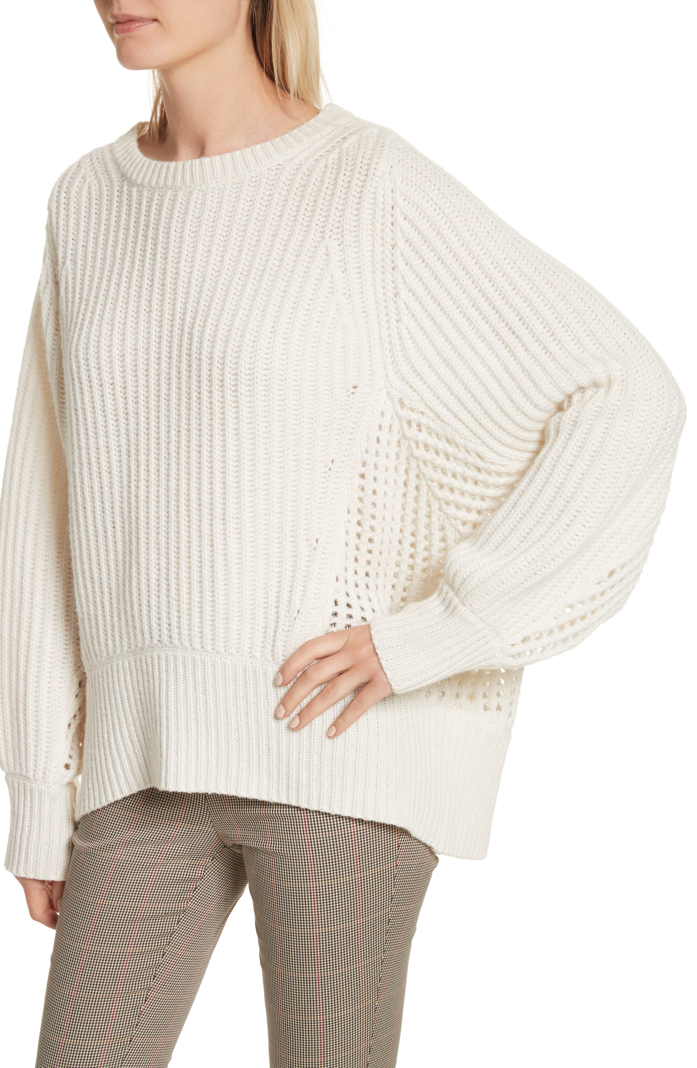 Athena Cashmere Pullover,                             Alternate thumbnail 8, color,