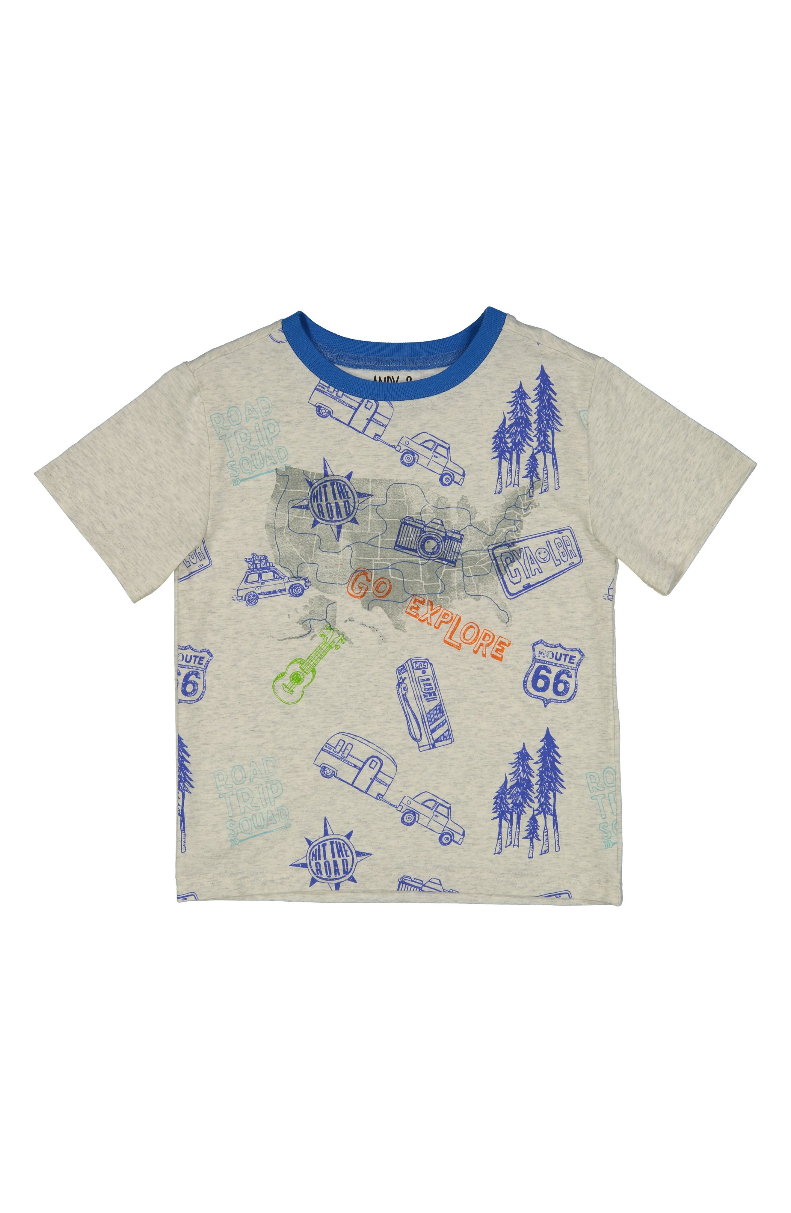 Road Trip T-Shirt,                         Main,                         color, 053