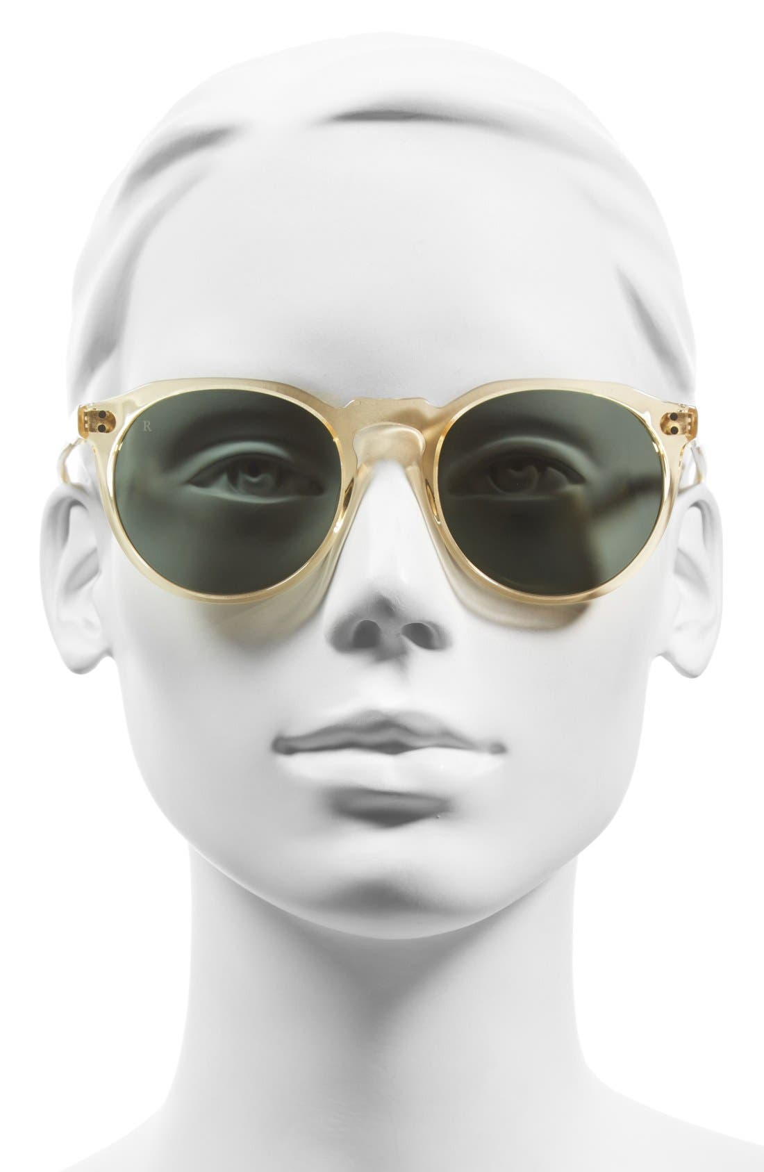 'Remmy' 52mm Polarized Sunglasses,                             Alternate thumbnail 6, color,