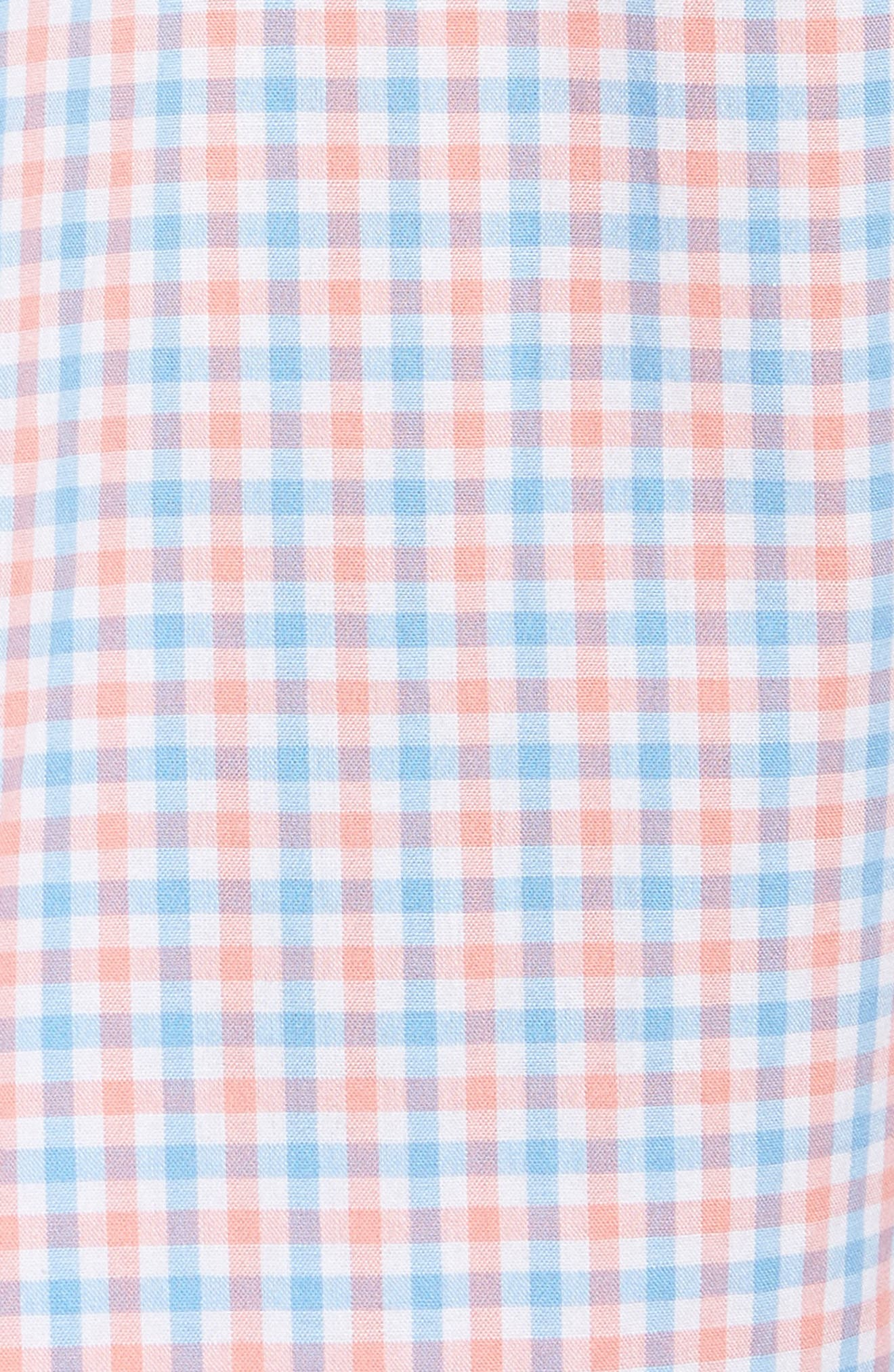 Tipsy Turtle Check Slim Fit Sport Shirt,                             Alternate thumbnail 15, color,