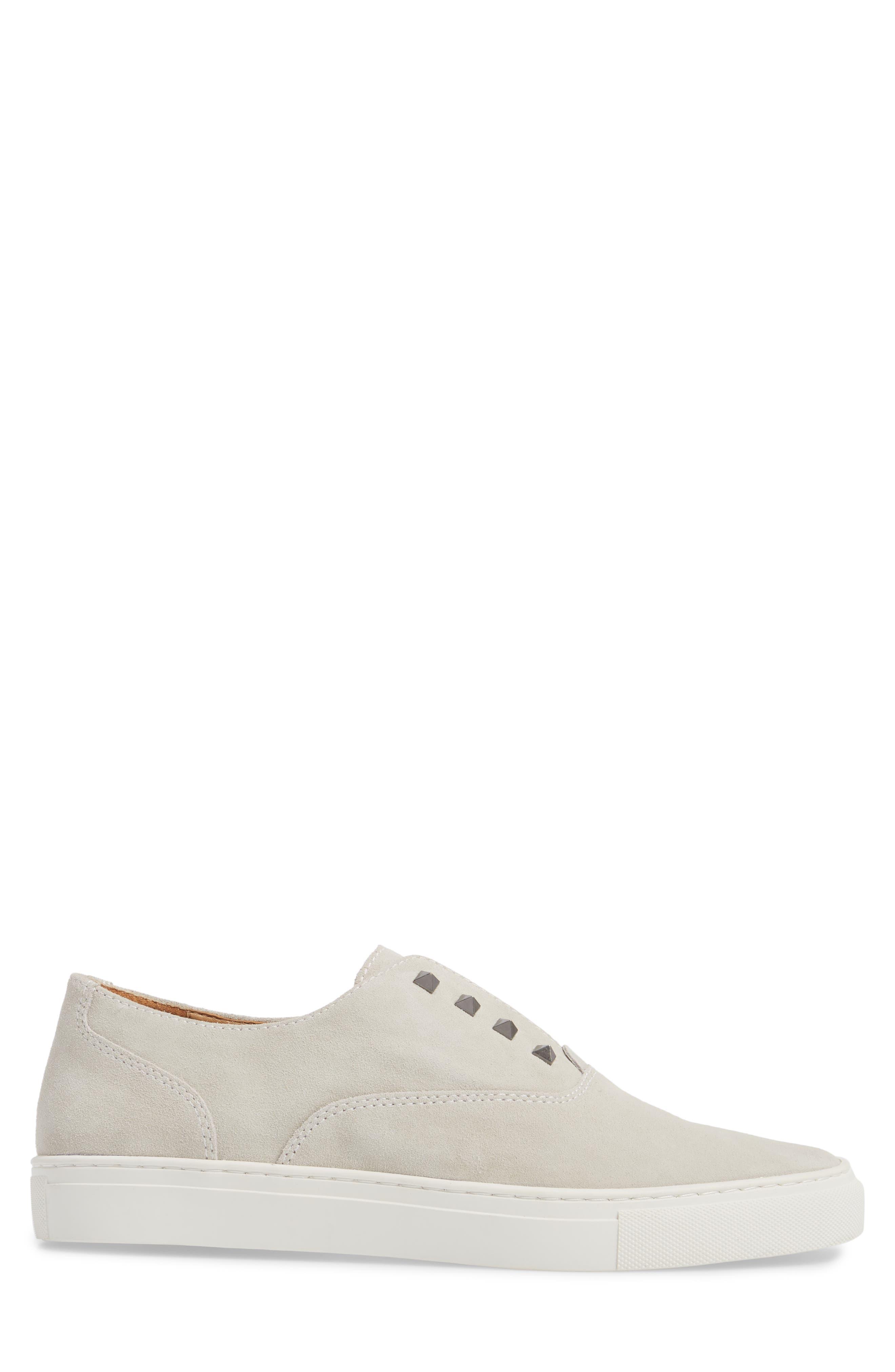 Aryo Studded Laceless Sneaker,                             Alternate thumbnail 5, color,