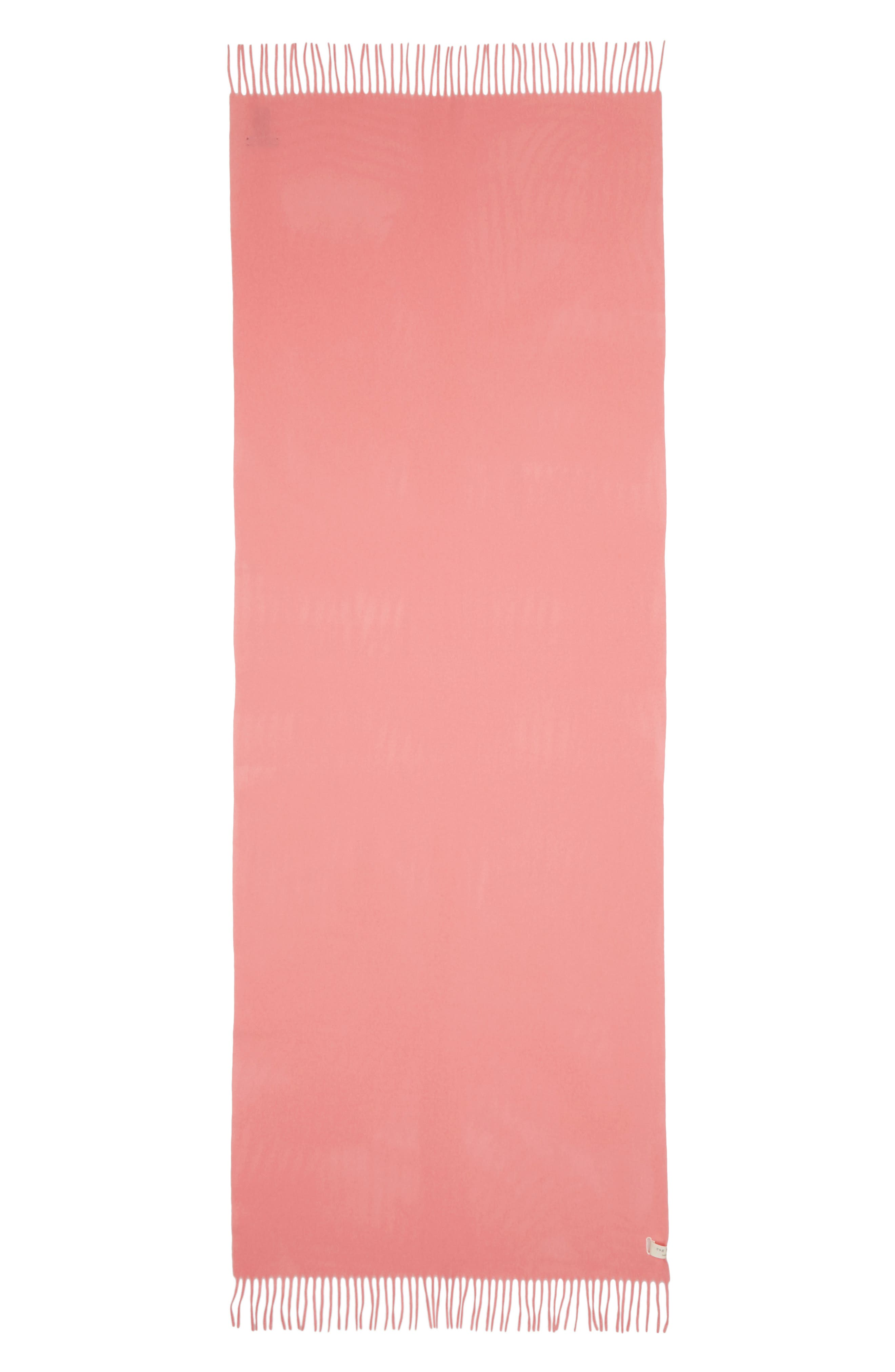Classic Wool Scarf,                             Alternate thumbnail 3, color,                             PINK