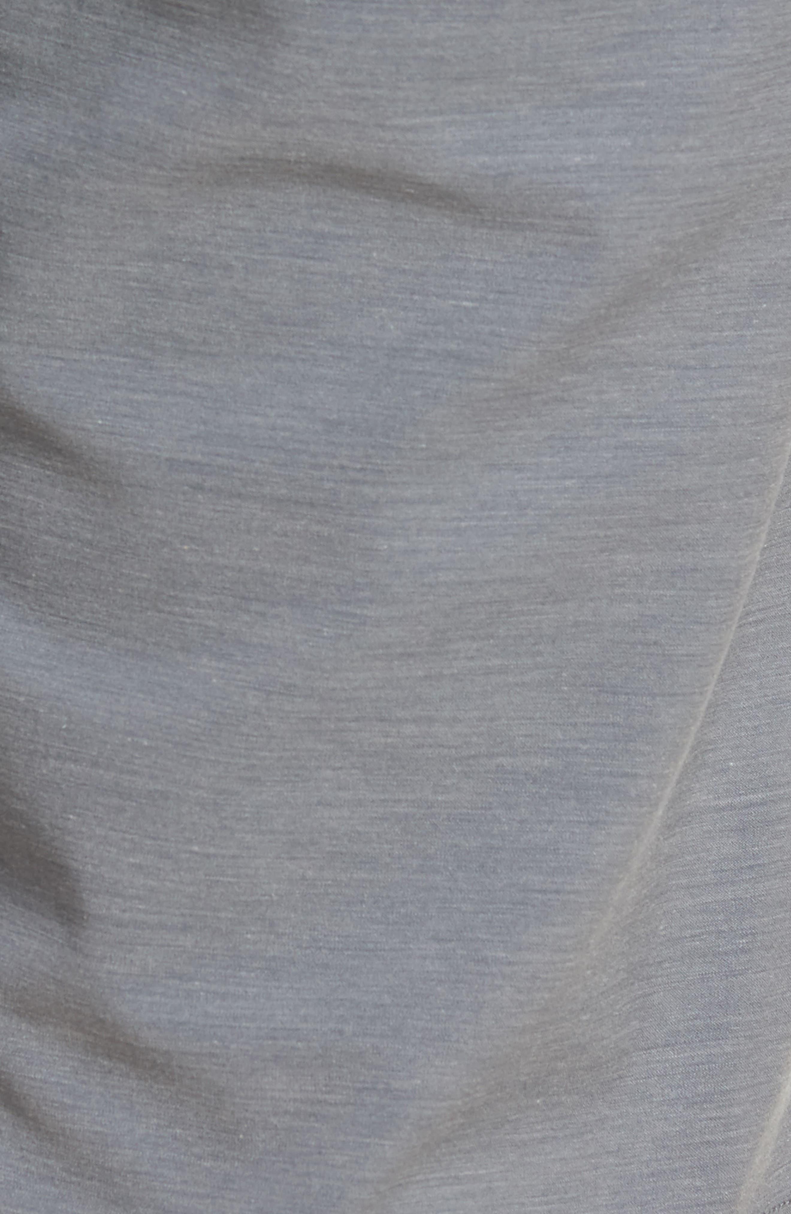 La Paz Regular Fit Slub Knit Shorts,                             Alternate thumbnail 5, color,                             020