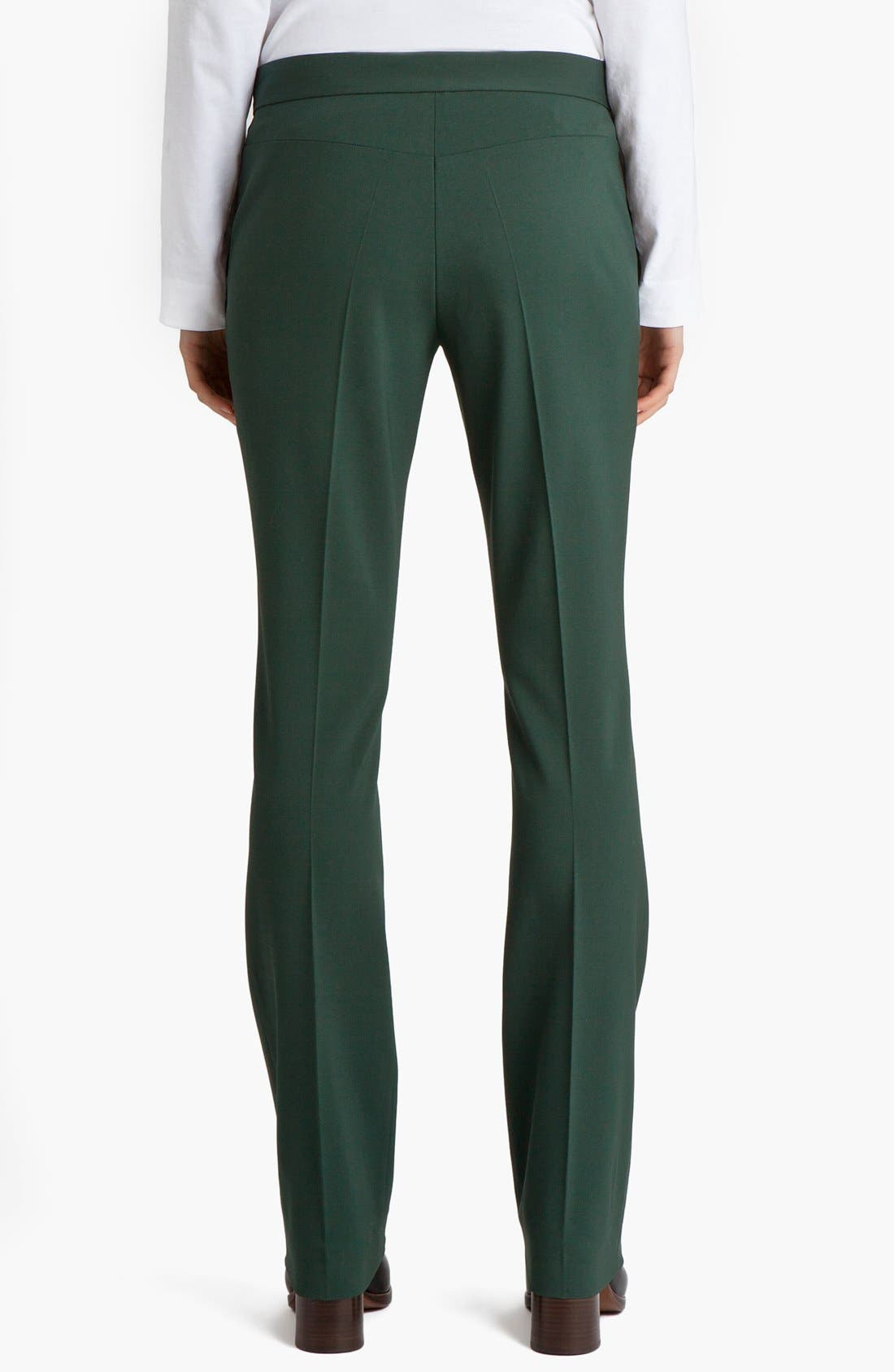 Narrow Leg Stretch Wool Pants,                             Main thumbnail 1, color,                             300
