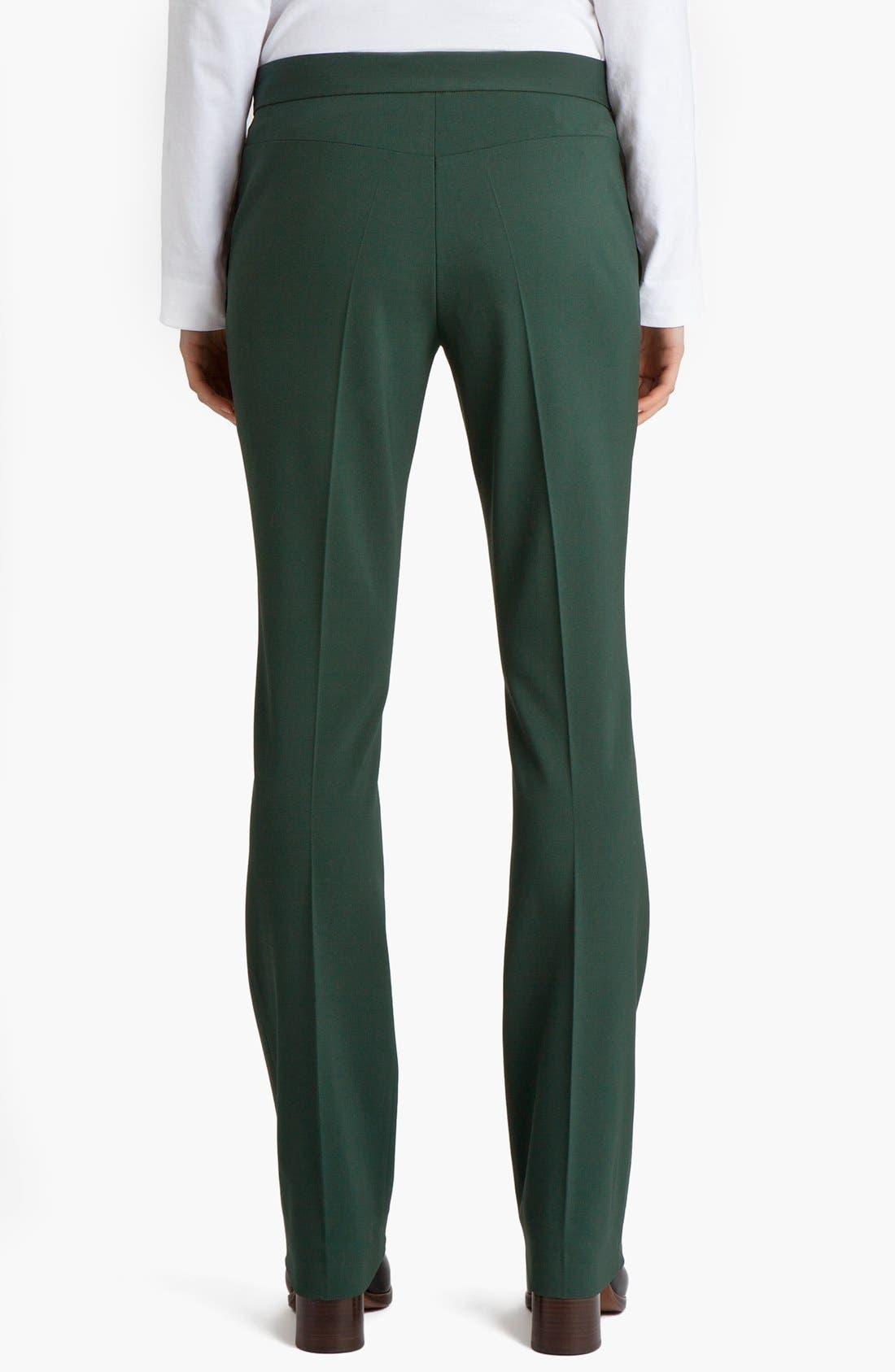 Narrow Leg Stretch Wool Pants,                         Main,                         color, 300