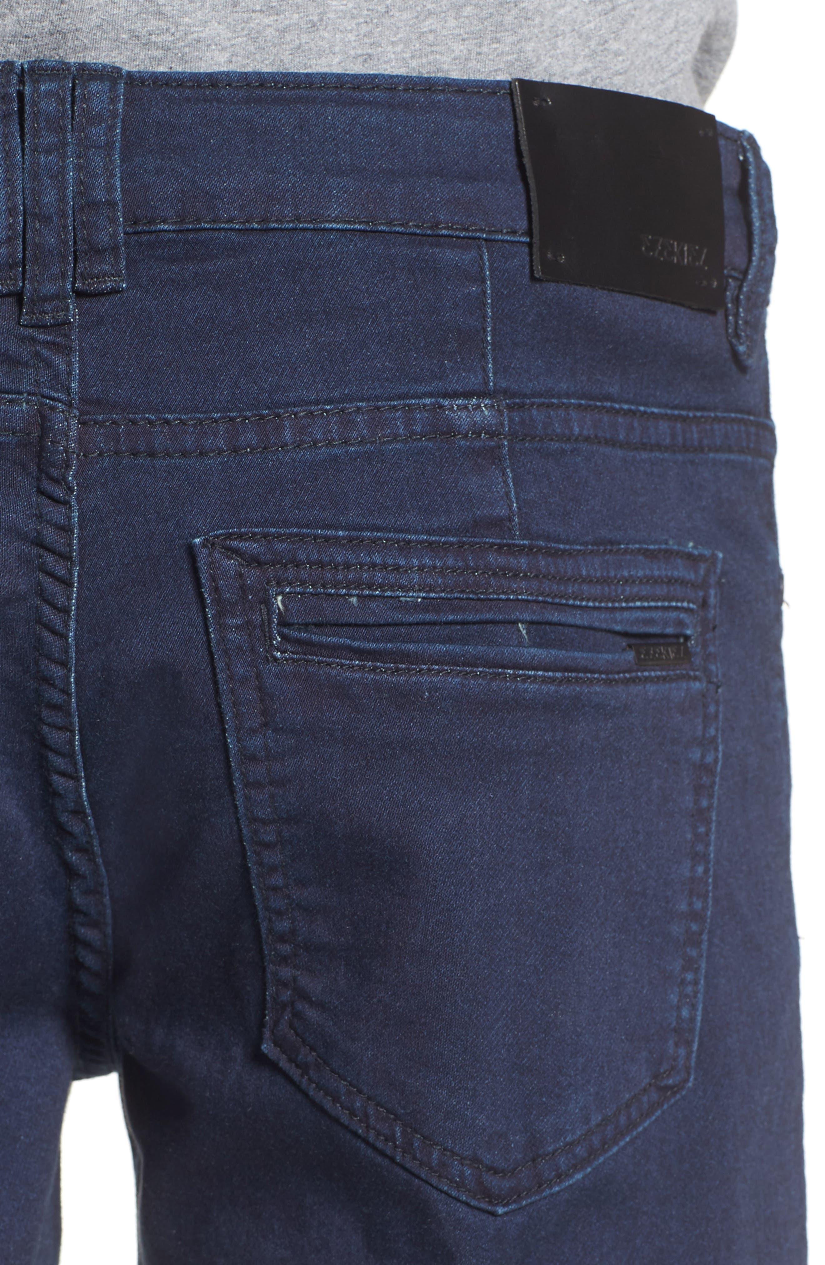 Slim Straight Leg Pants,                             Alternate thumbnail 4, color,                             462