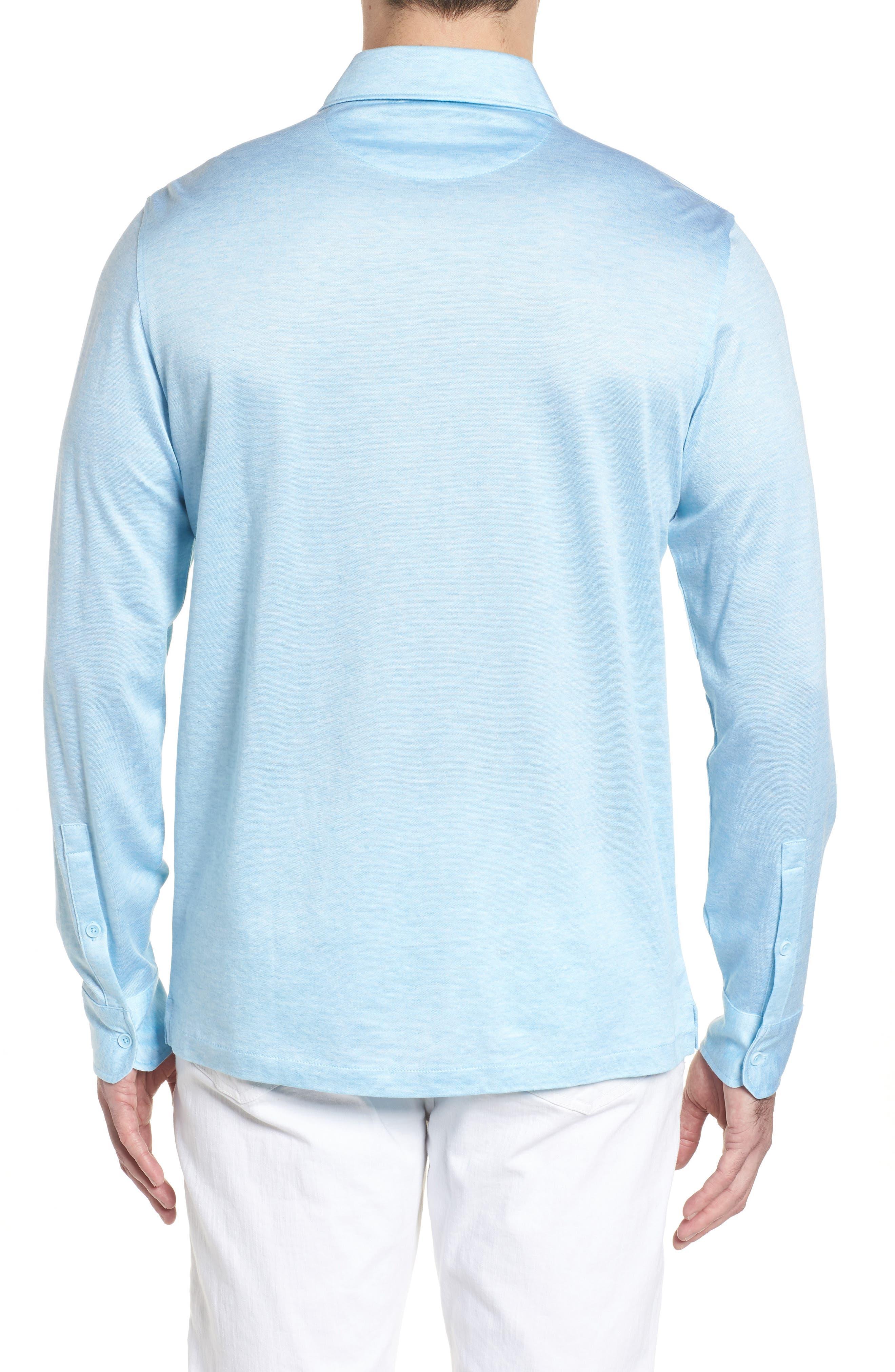Regular Fit Silk Blend Sport Shirt,                             Alternate thumbnail 9, color,