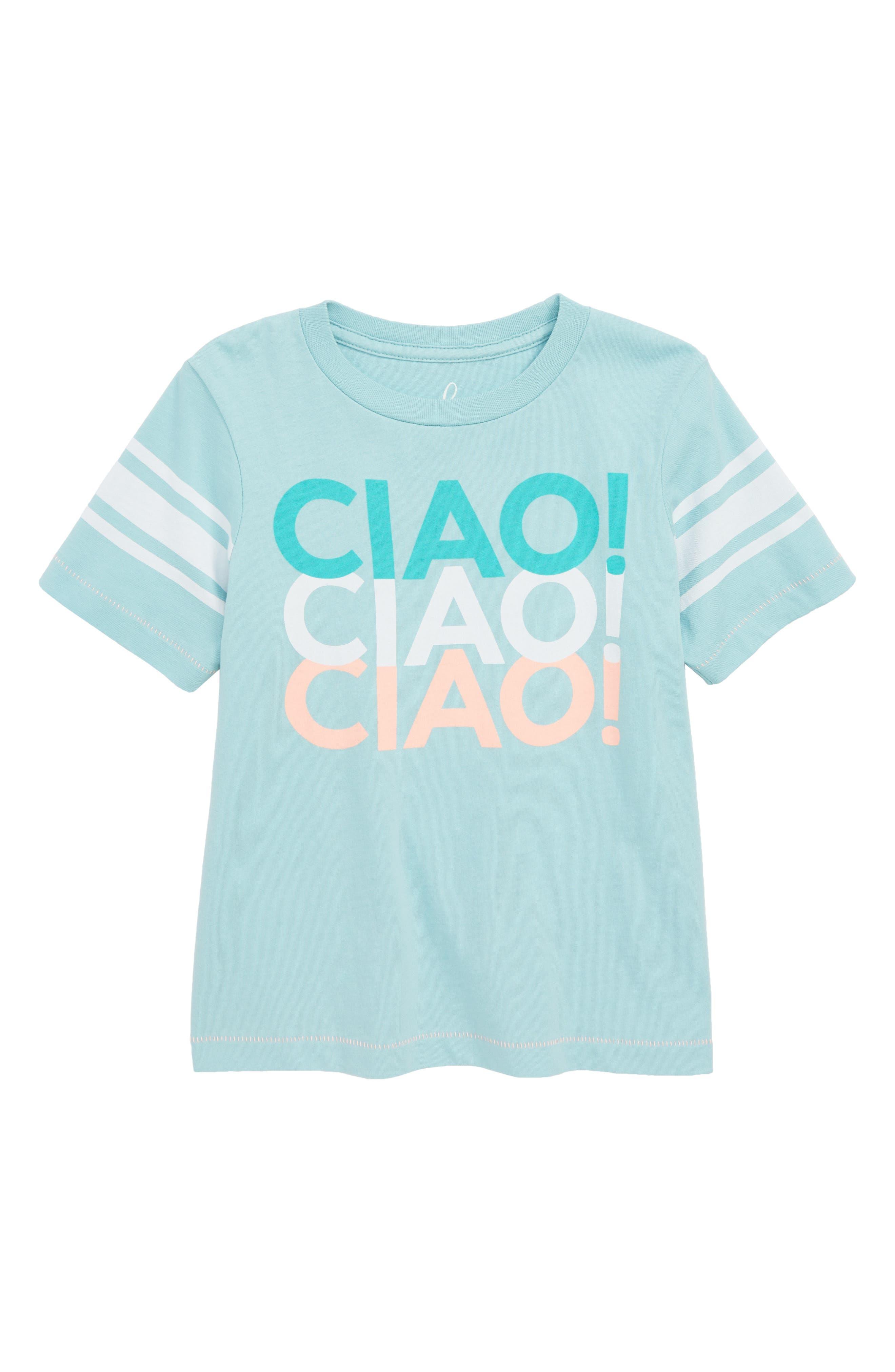 PEEK AREN'T YOU CURIOUS,                             Peek Ciao! T-Shirt,                             Main thumbnail 1, color,                             452