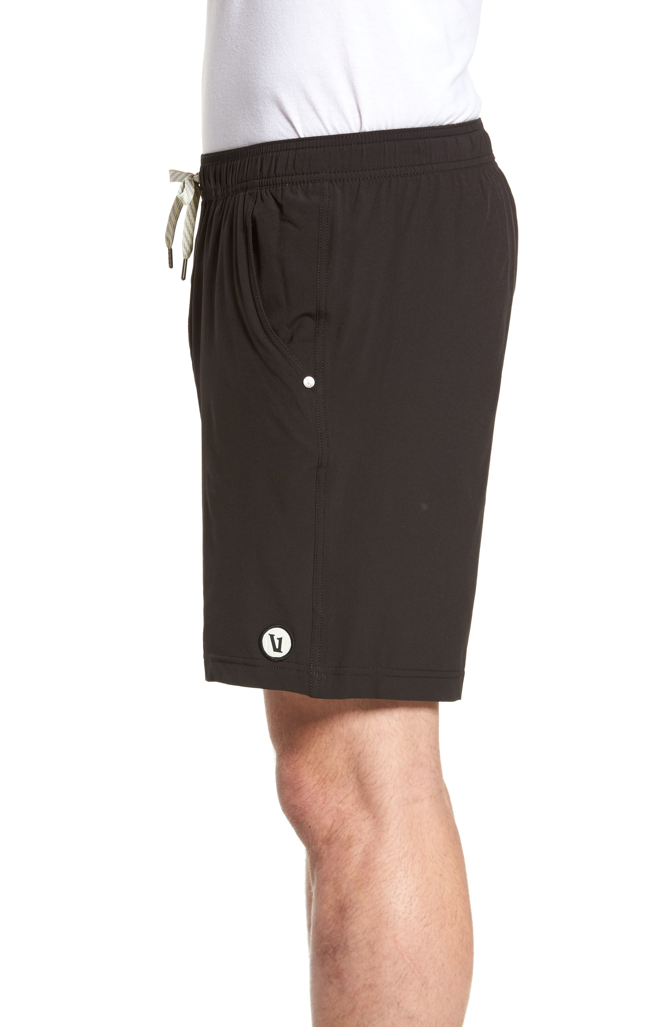 Kore Shorts,                             Alternate thumbnail 3, color,                             BLACK