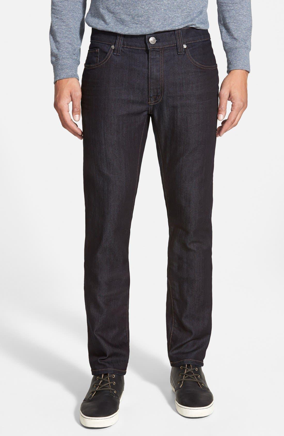 Torino Slim Fit Jeans,                             Main thumbnail 1, color,                             REVOLUTION RINSE