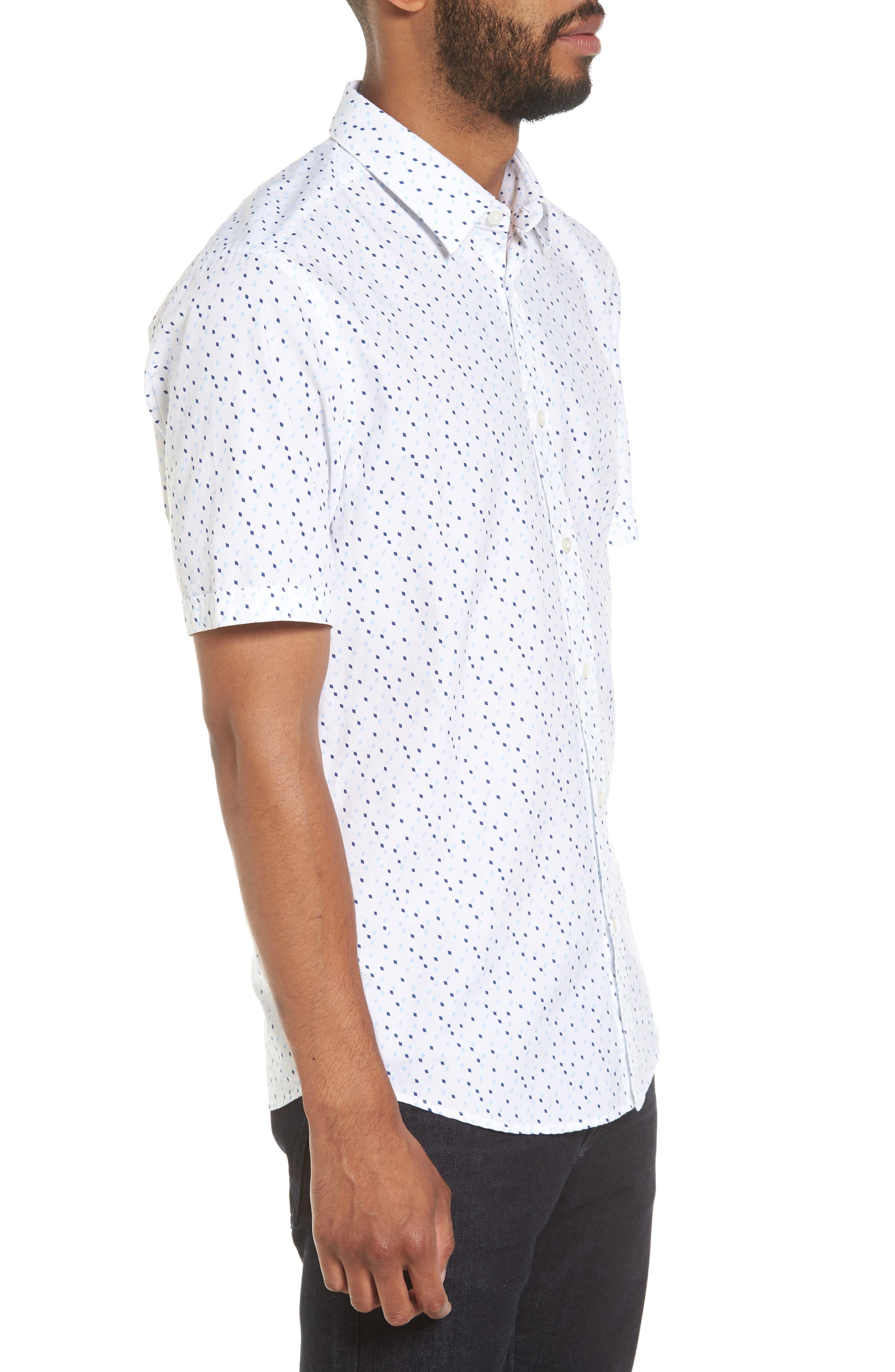 Luka Regular Fit Print Sport Shirt,                             Alternate thumbnail 3, color,