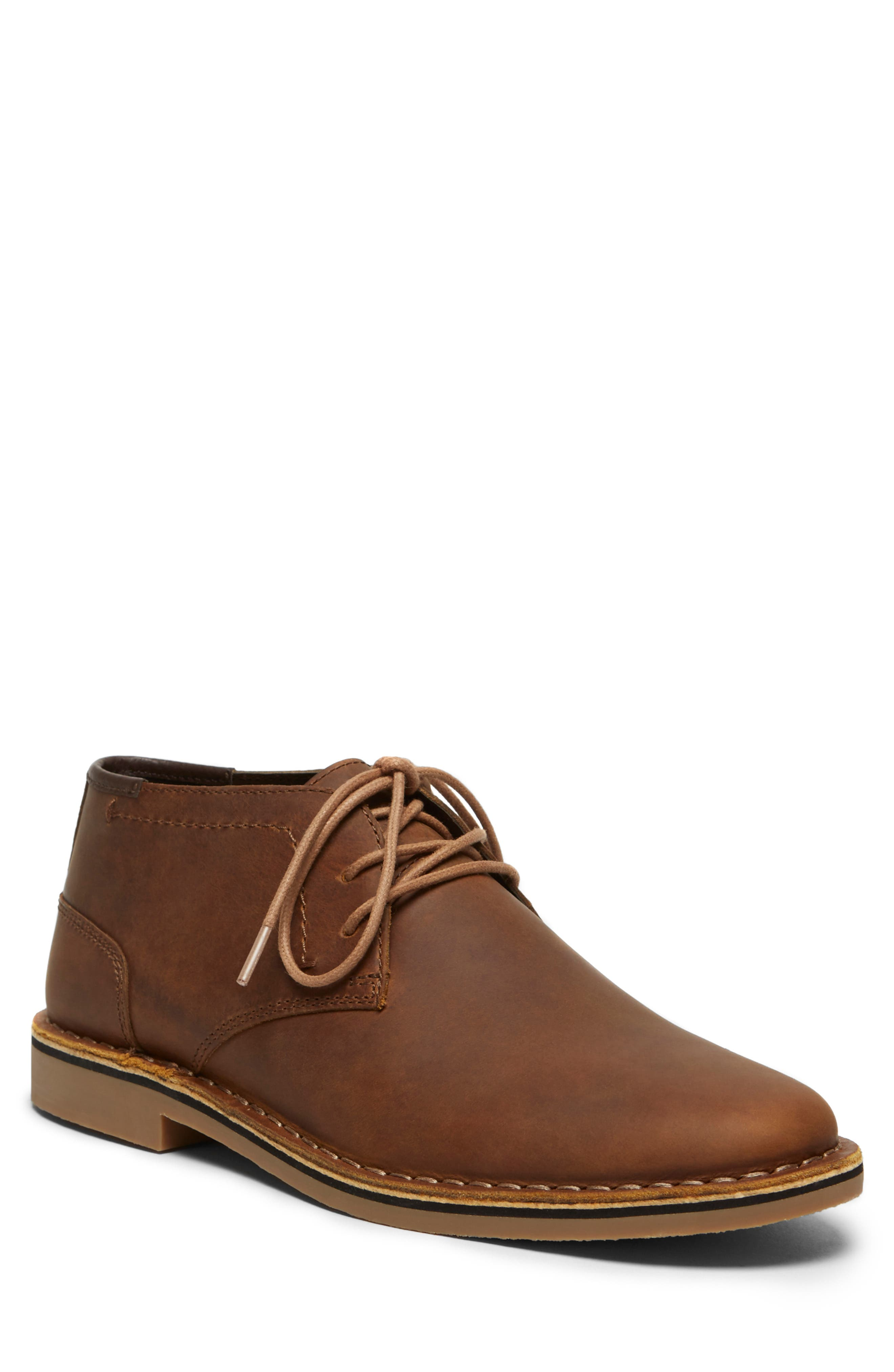 'Desert Sun' Chukka Boot,                         Main,                         color, BROWN LEATHER