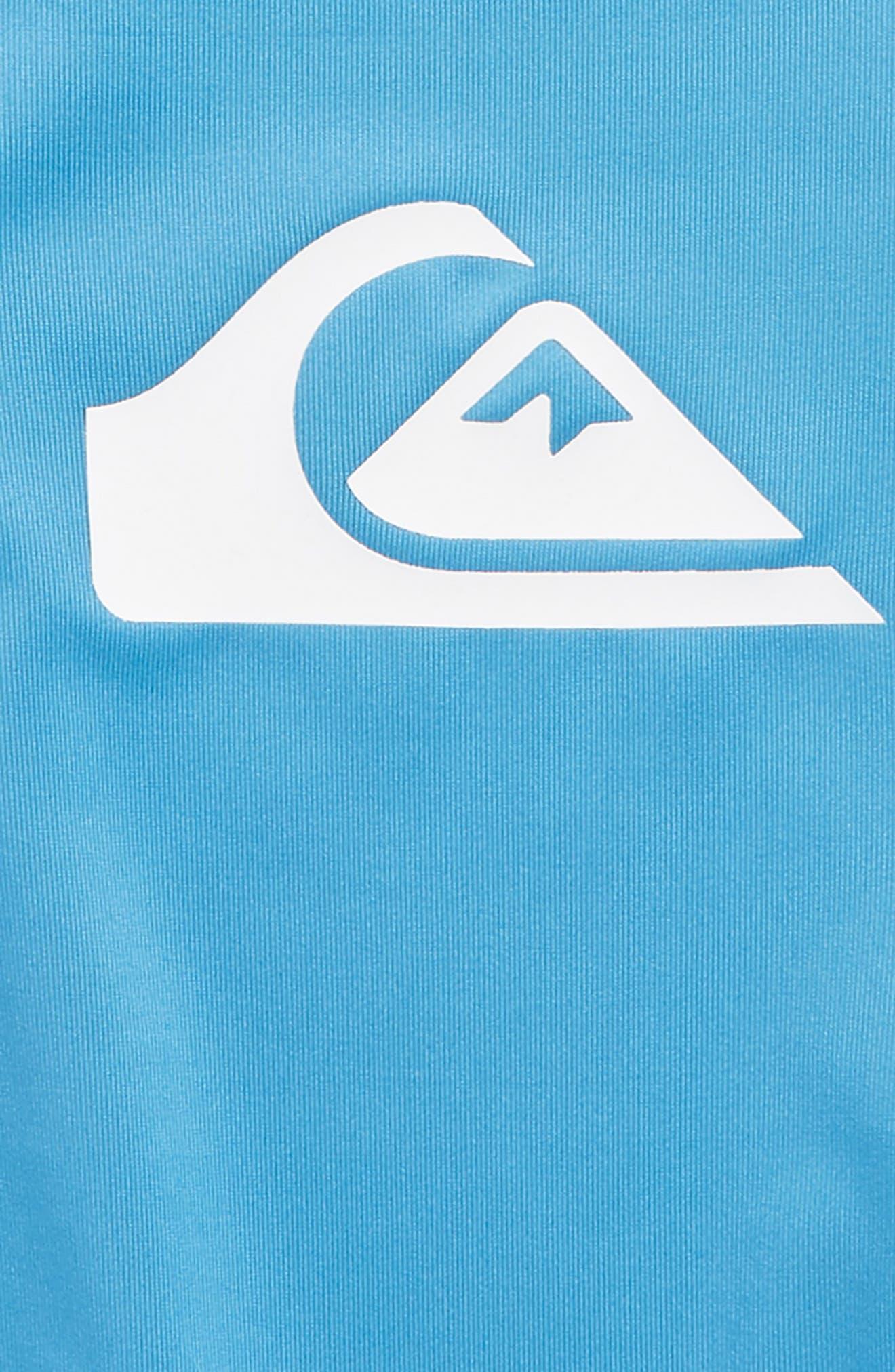 Logo Rashguard Shirt,                             Alternate thumbnail 3, color,