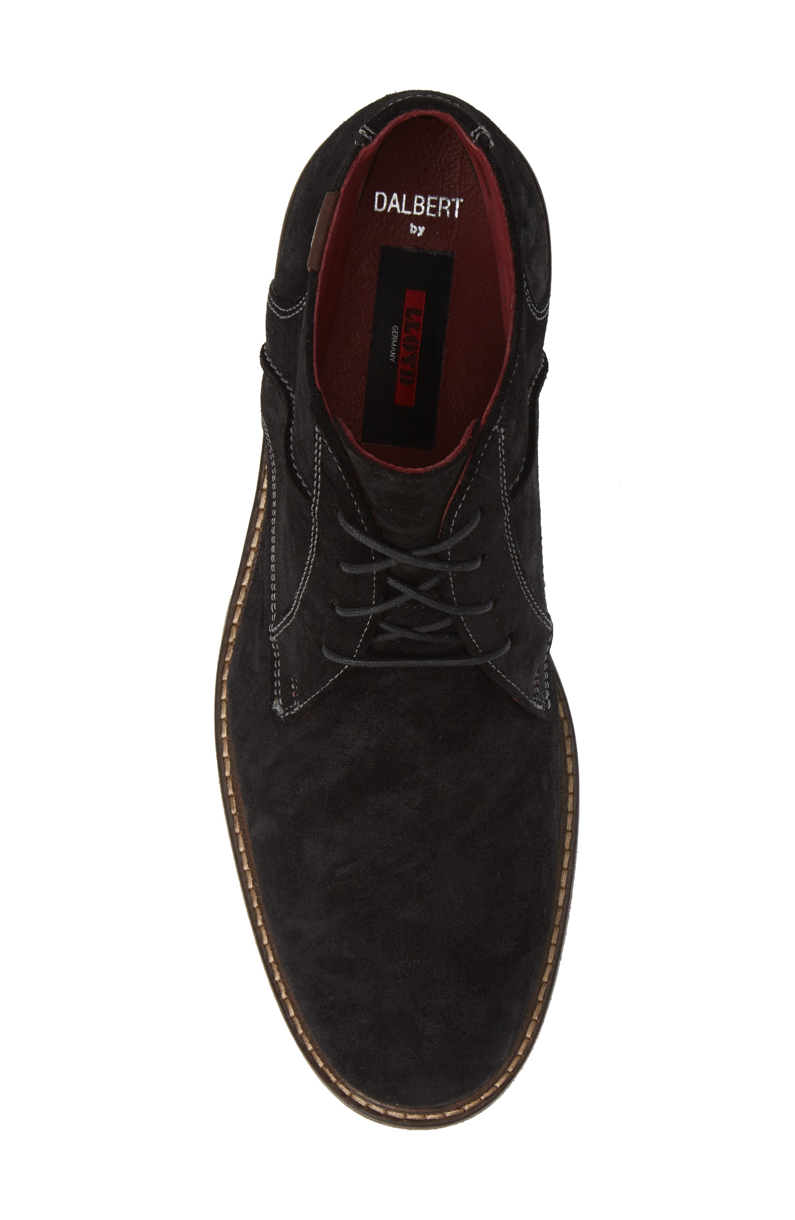 Dalbert Chukka Boot,                             Alternate thumbnail 5, color,                             BLACK/ KENIA SUEDE