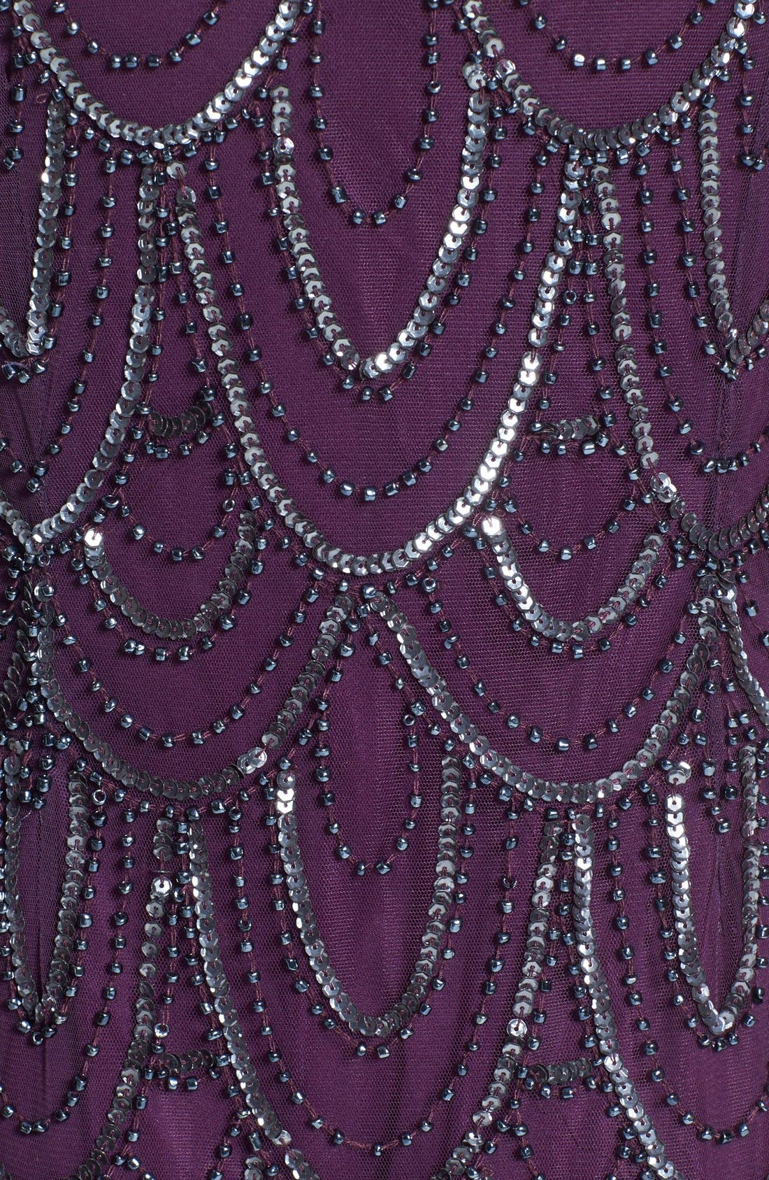 Embellished Mesh Sheath Dress,                             Alternate thumbnail 115, color,
