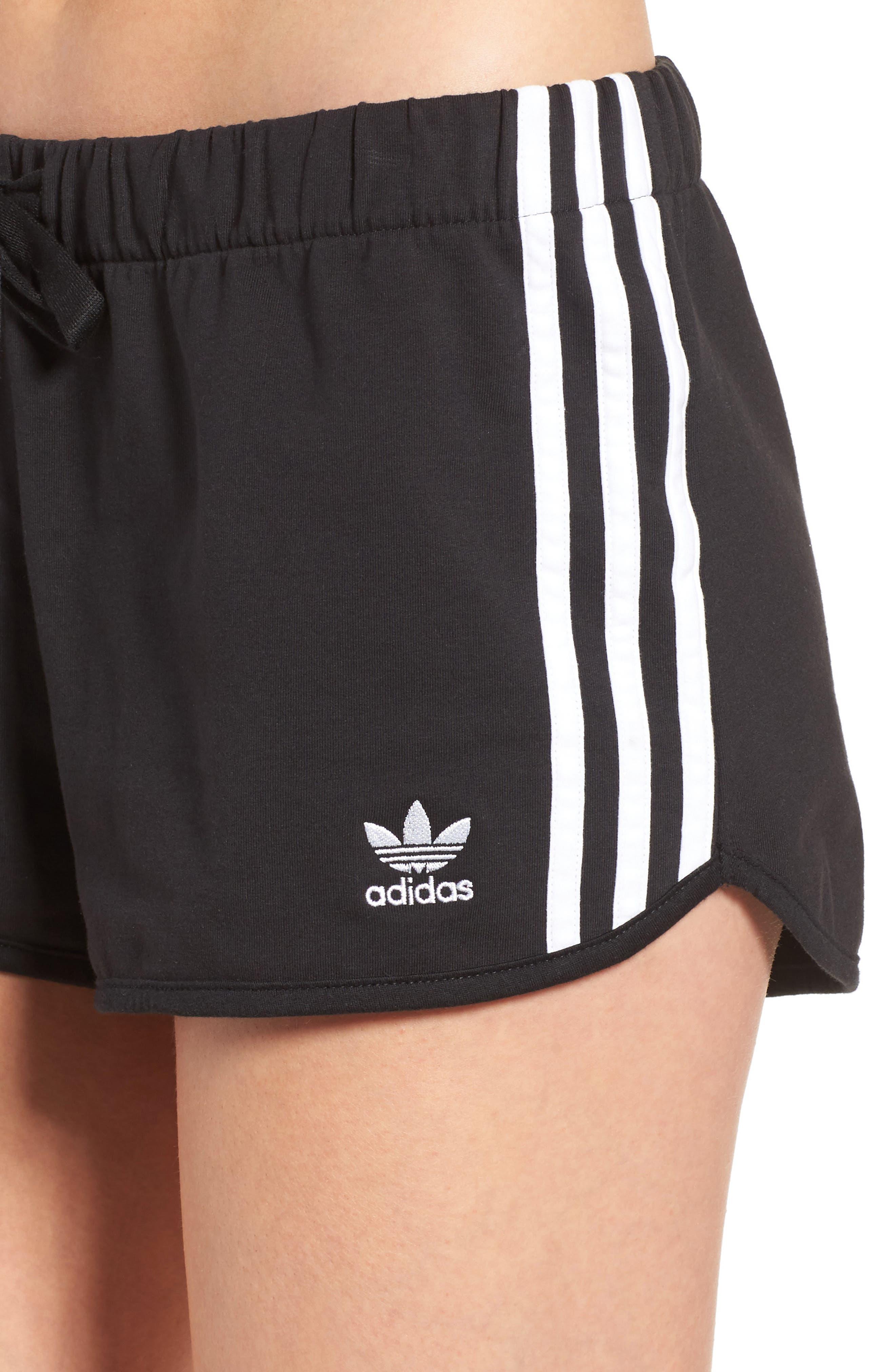 Originals Slim Fit Shorts,                             Alternate thumbnail 4, color,                             001