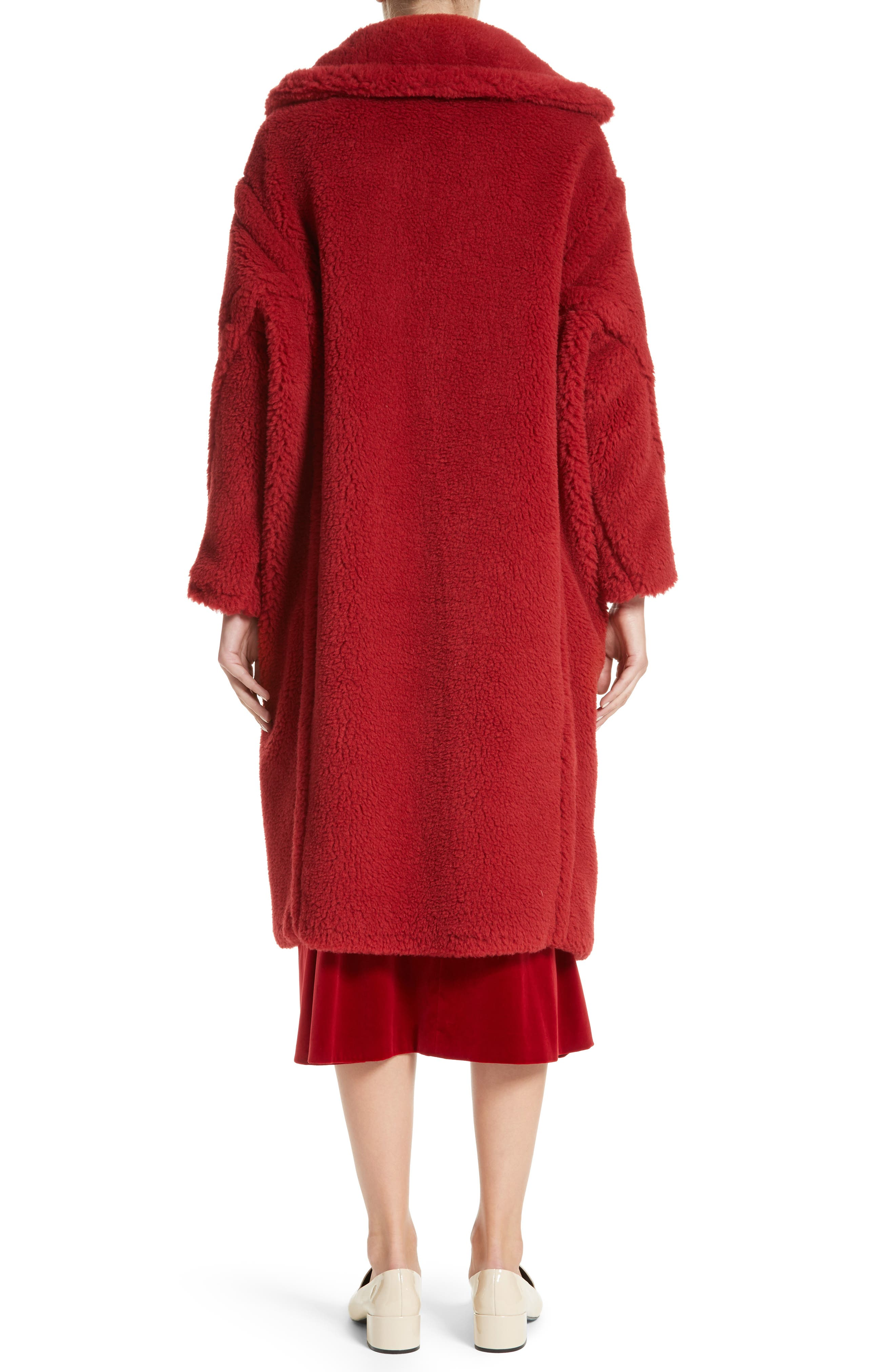 Pappino Camel Hair & Silk Coat,                             Alternate thumbnail 2, color,                             614