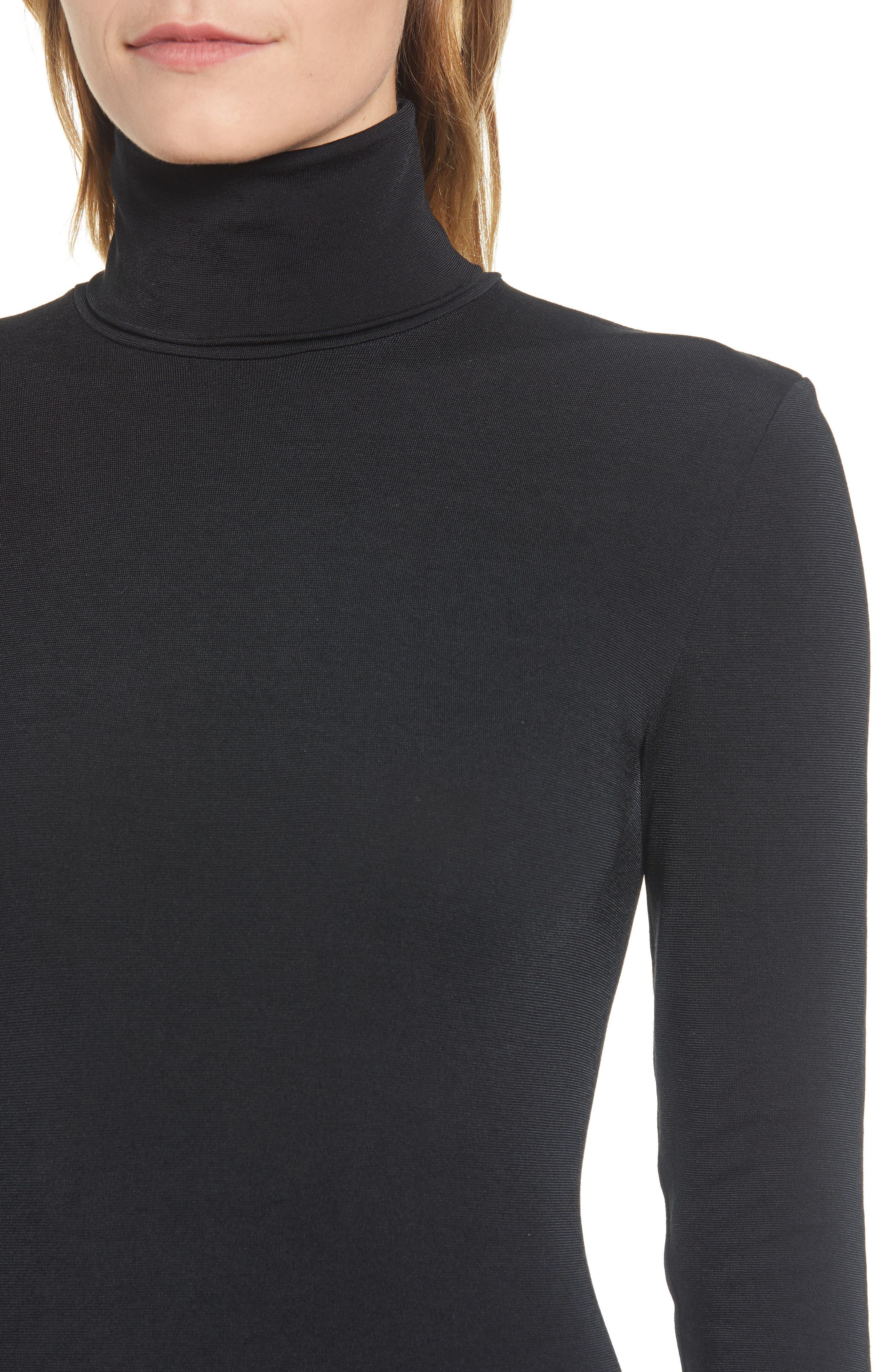 WOLFORD,                             'Colorado' Bodysuit,                             Alternate thumbnail 4, color,                             002
